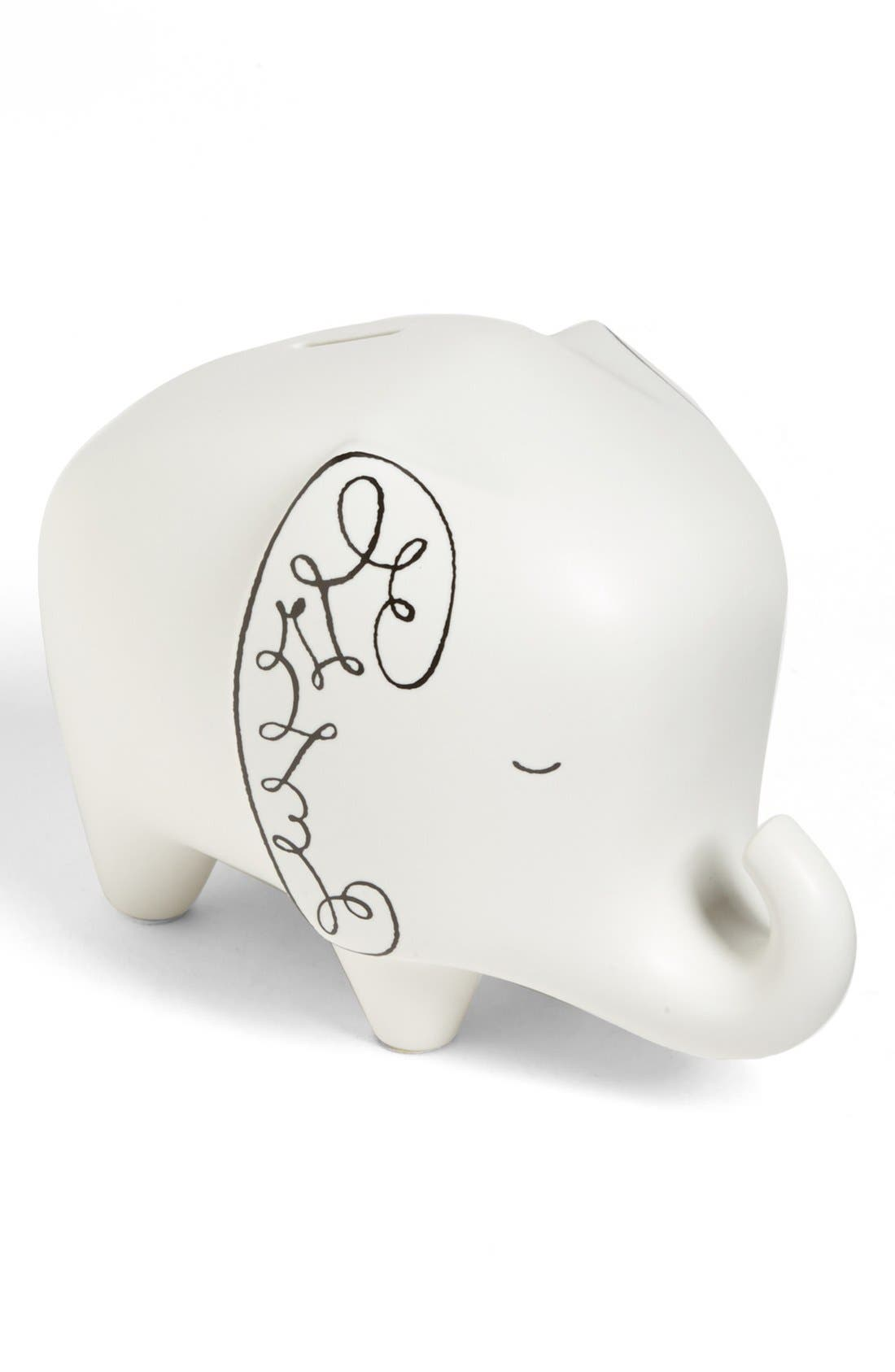 Alternate Image 1 Selected - kate spade new york elephant bank