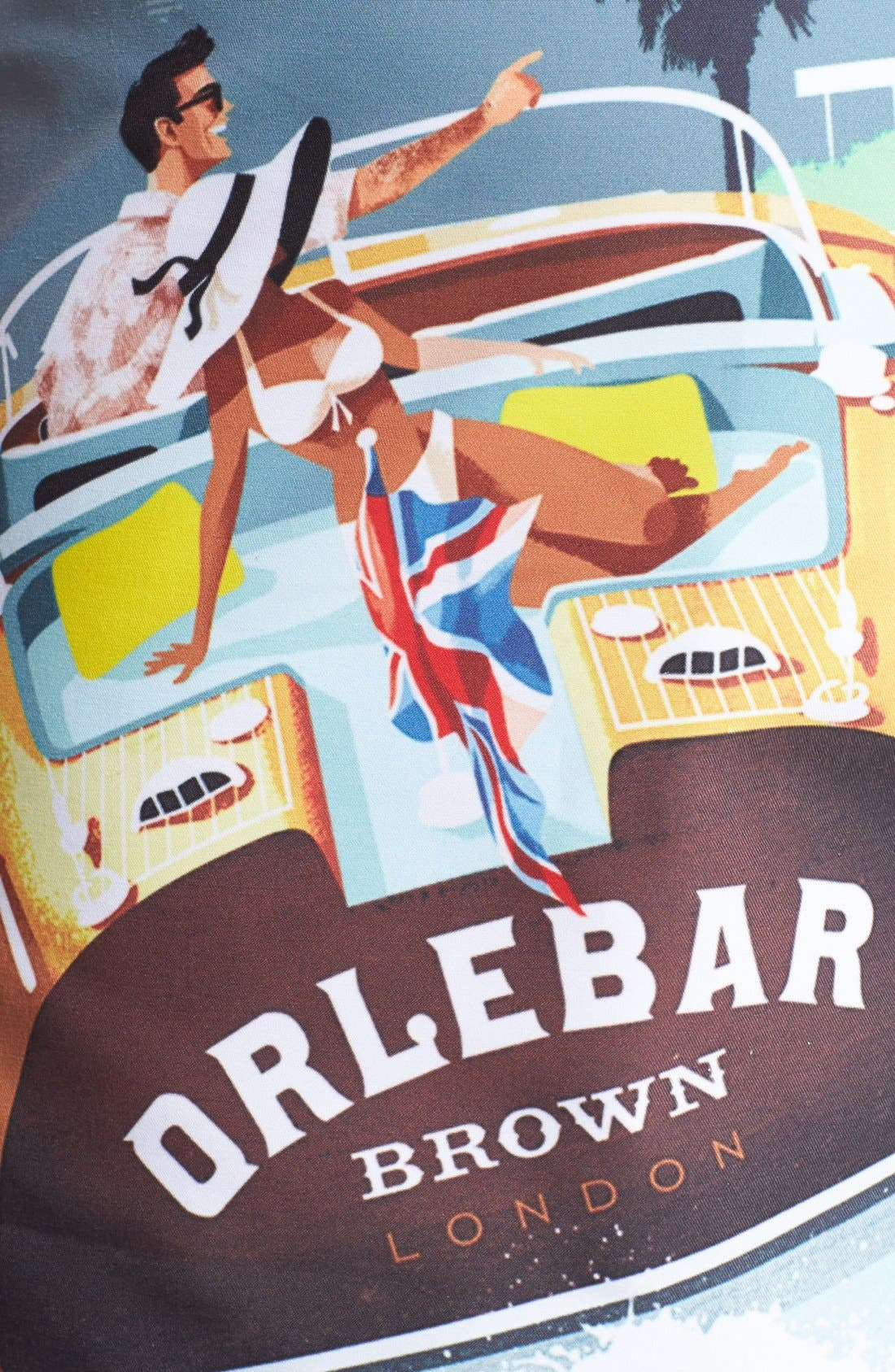 Alternate Image 3  - Orlebar Brown 'Miami Speedboat' Swim Shorts