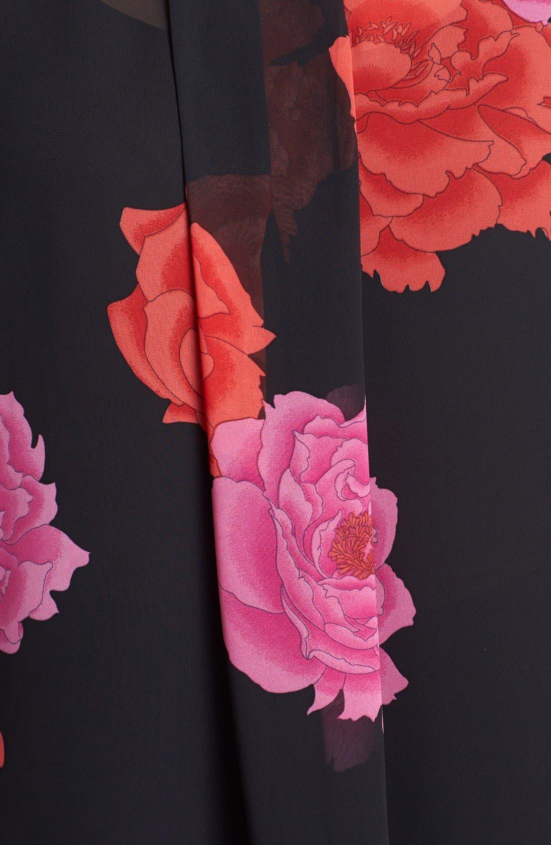 Alternate Image 3  - Vince Camuto 'Peonies' Embellished Blouse (Plus Size)