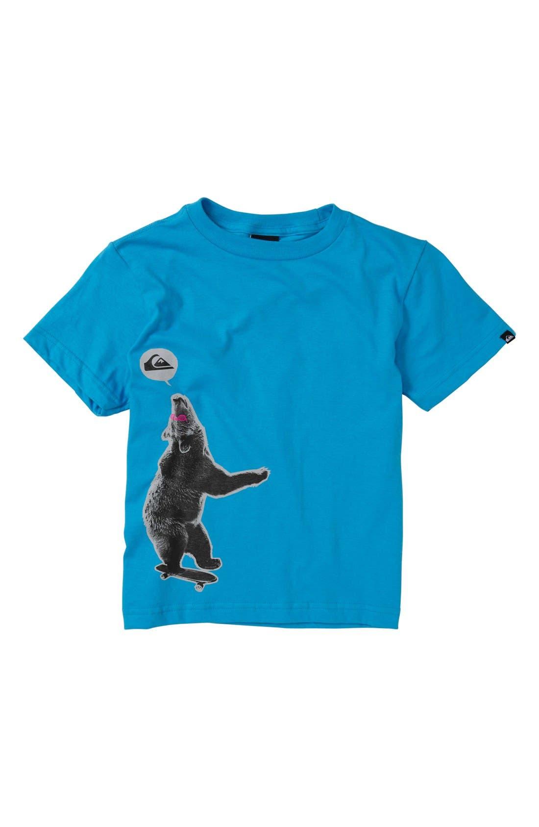 Main Image - Quiksilver 'Free Ride' T-Shirt (Baby Boys)