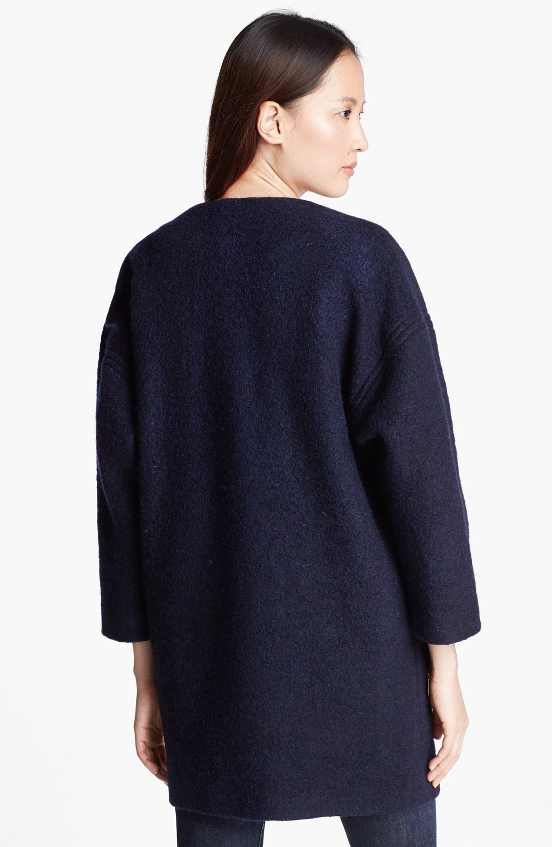 Alternate Image 2  - Helene Berman Wool Blend Coat