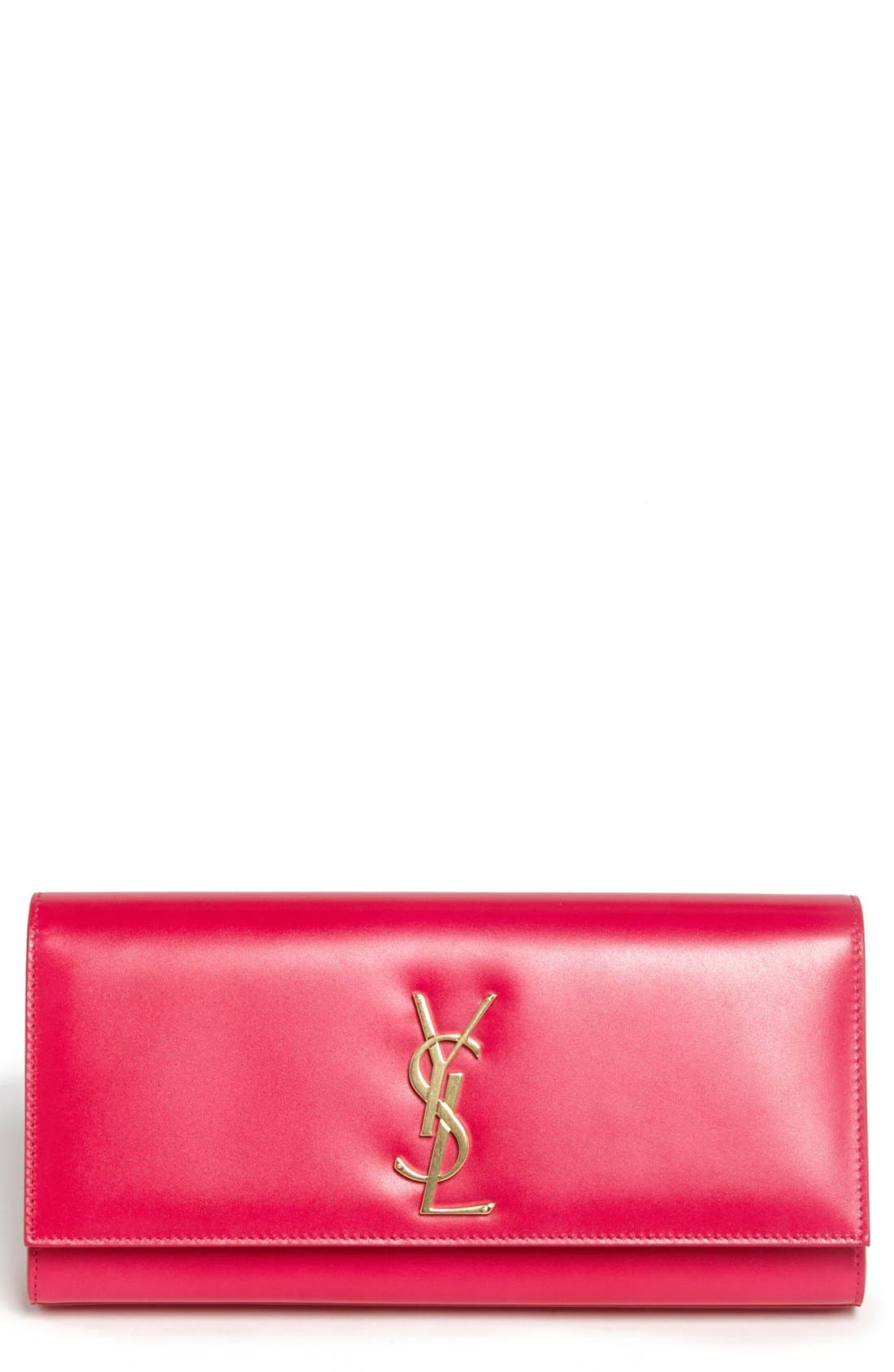 Alternate Image 1 Selected - Saint Laurent 'Cassandre Monet' Leather Clutch