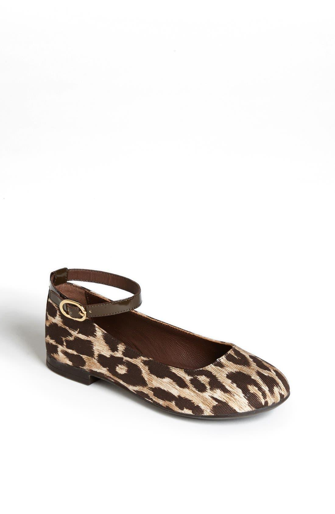 Main Image - Dolce&Gabbana 'Tessuto' Flat (Toddler & Little Kid)