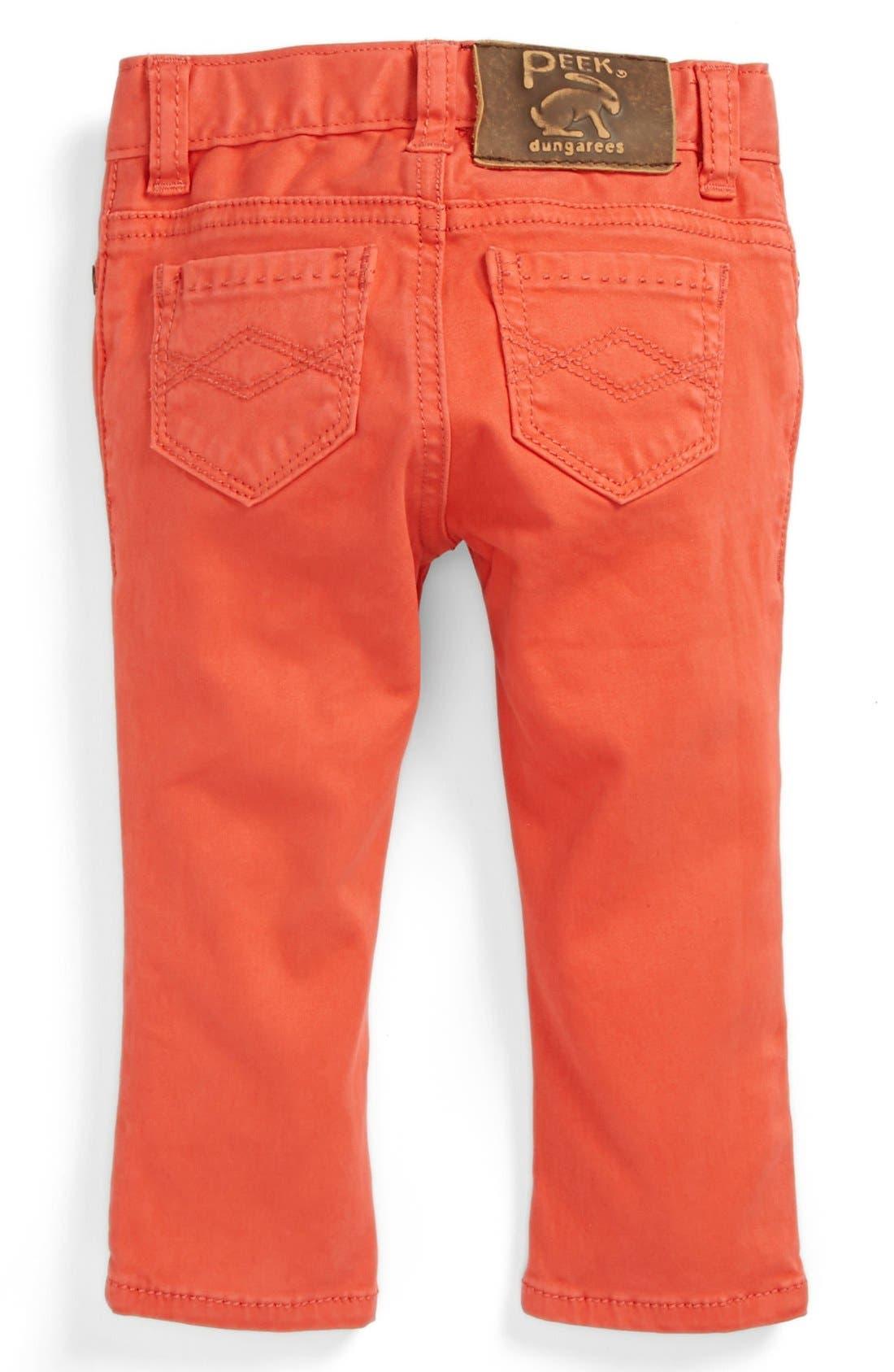 Alternate Image 1 Selected - Peek 'Maya' Jeans (Baby Girls)