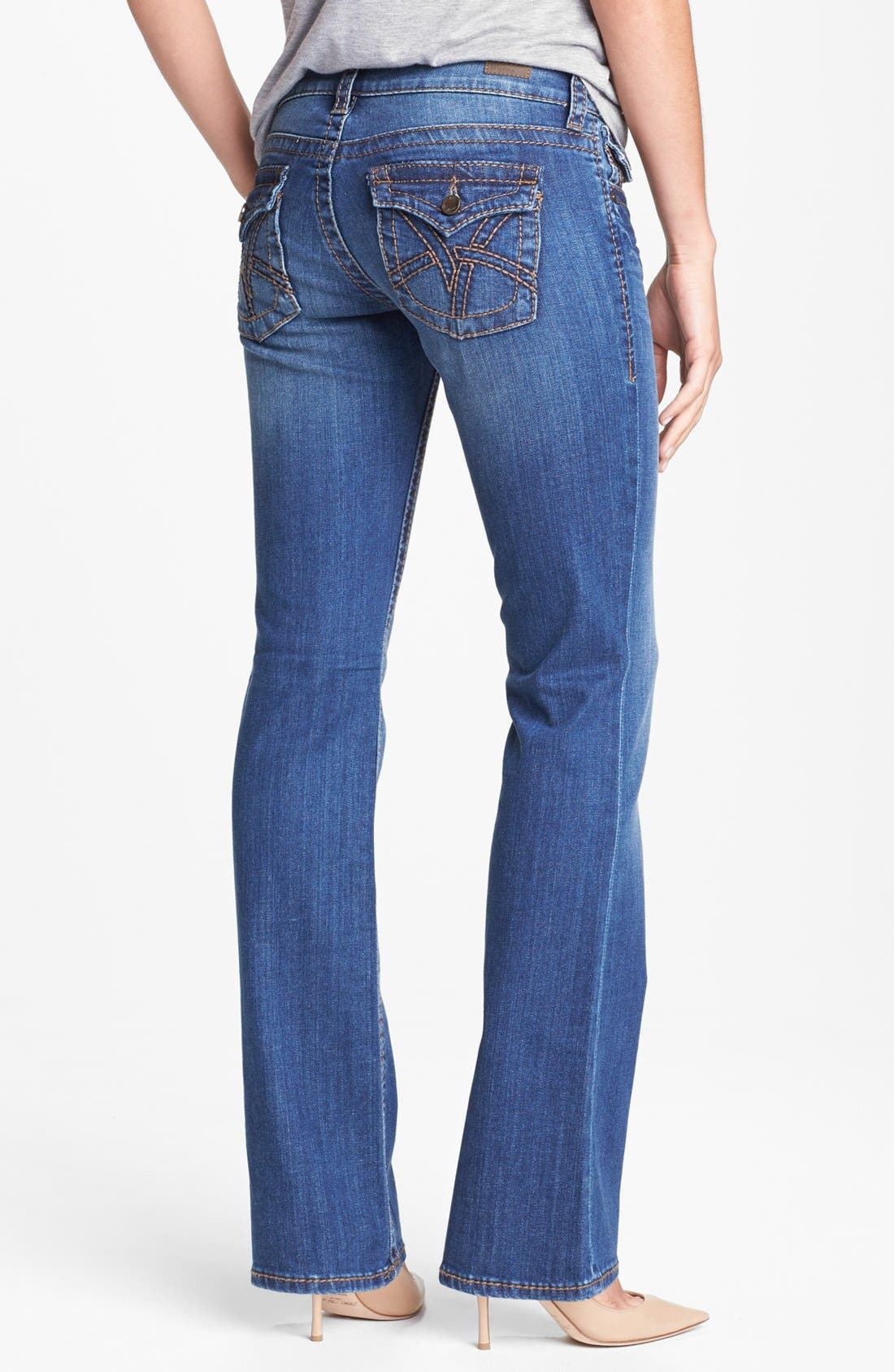 Alternate Image 2  - KUT from the Kloth 'Kate' Bootcut Jeans (Regular & Tall) (Abundance)