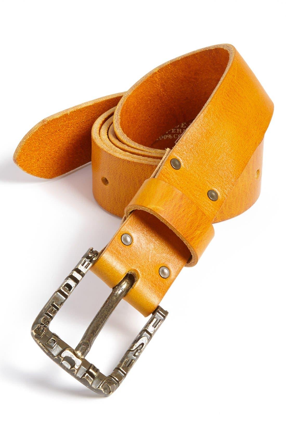 Alternate Image 1 Selected - DIESEL® 'Bacip' Belt