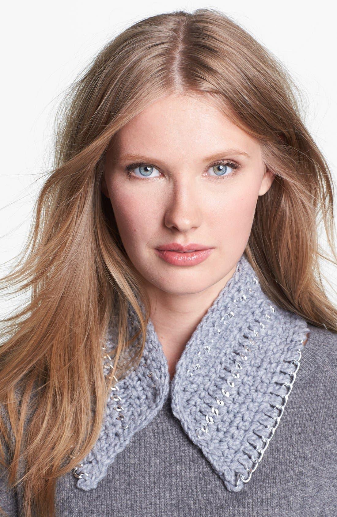 Main Image - Echo Chain Link Crocheted Collar