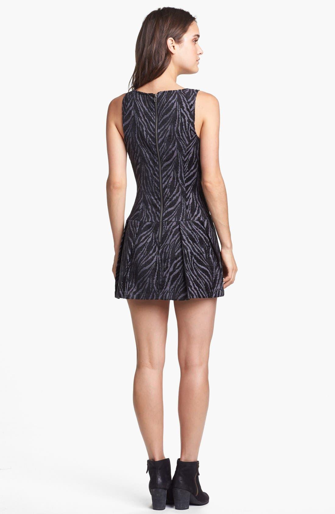 Alternate Image 2  - Free People Print Drop Waist Dress