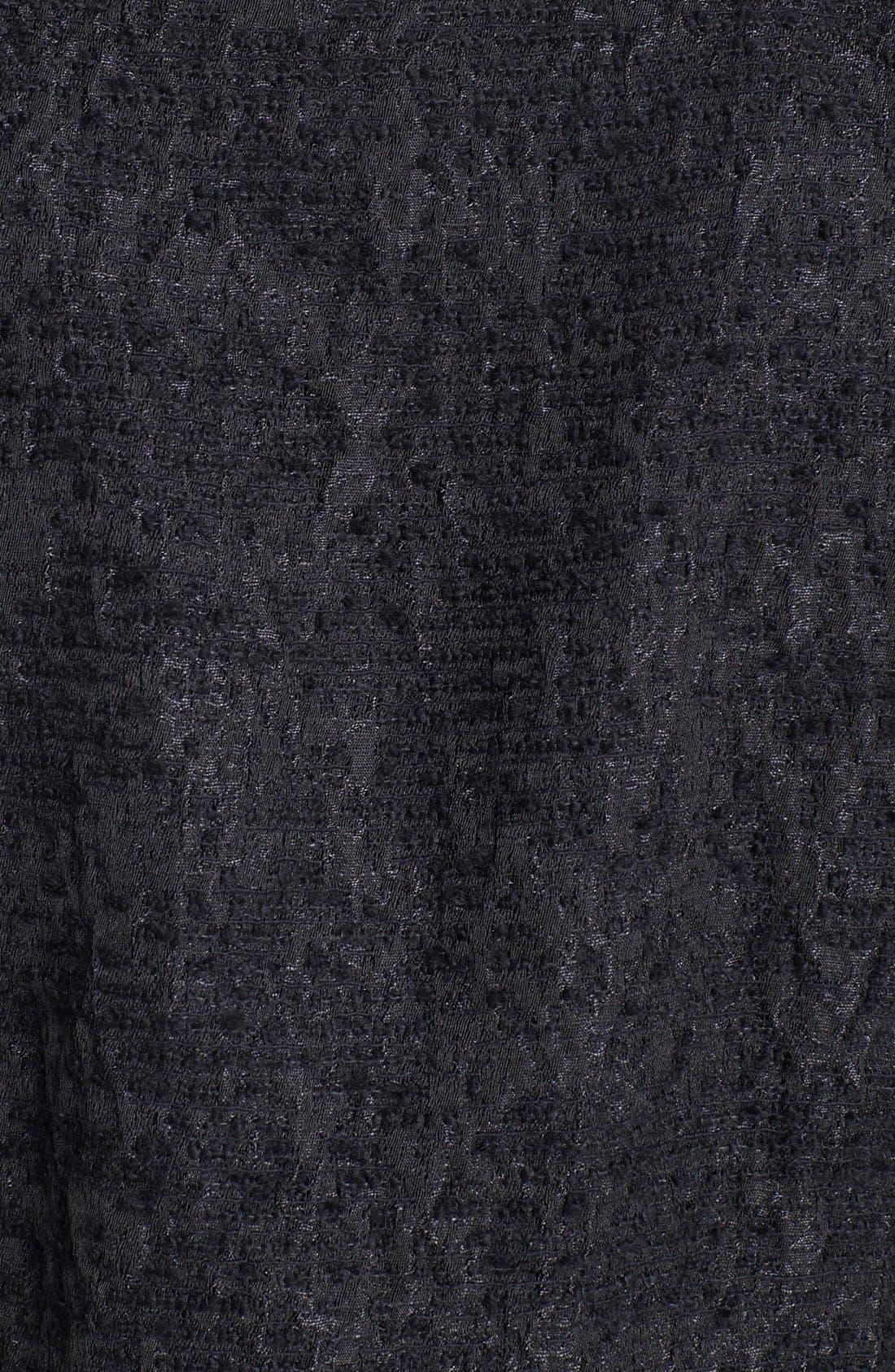 Alternate Image 3  - Eileen Fisher Threaded Satin Jacquard Jacket