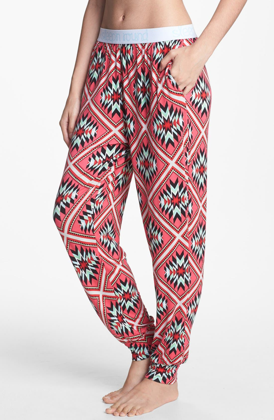 Alternate Image 1 Selected - Sleep'N Round Harem Pajama Pants