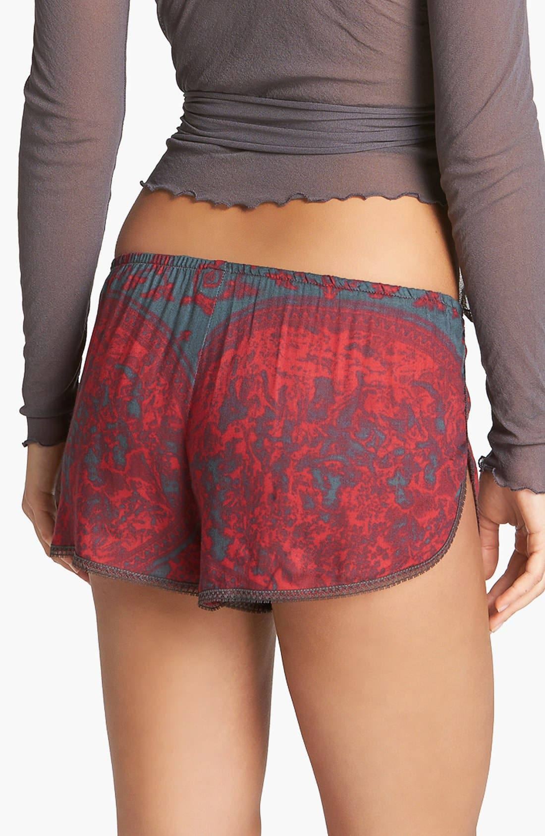 Alternate Image 2  - Only Hearts 'Tipsy Toile' Boxer Shorts