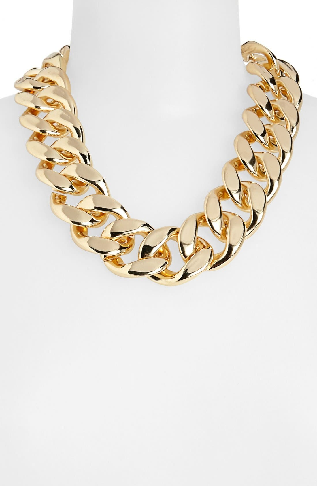Main Image - Topshop Thick Chain Necklace