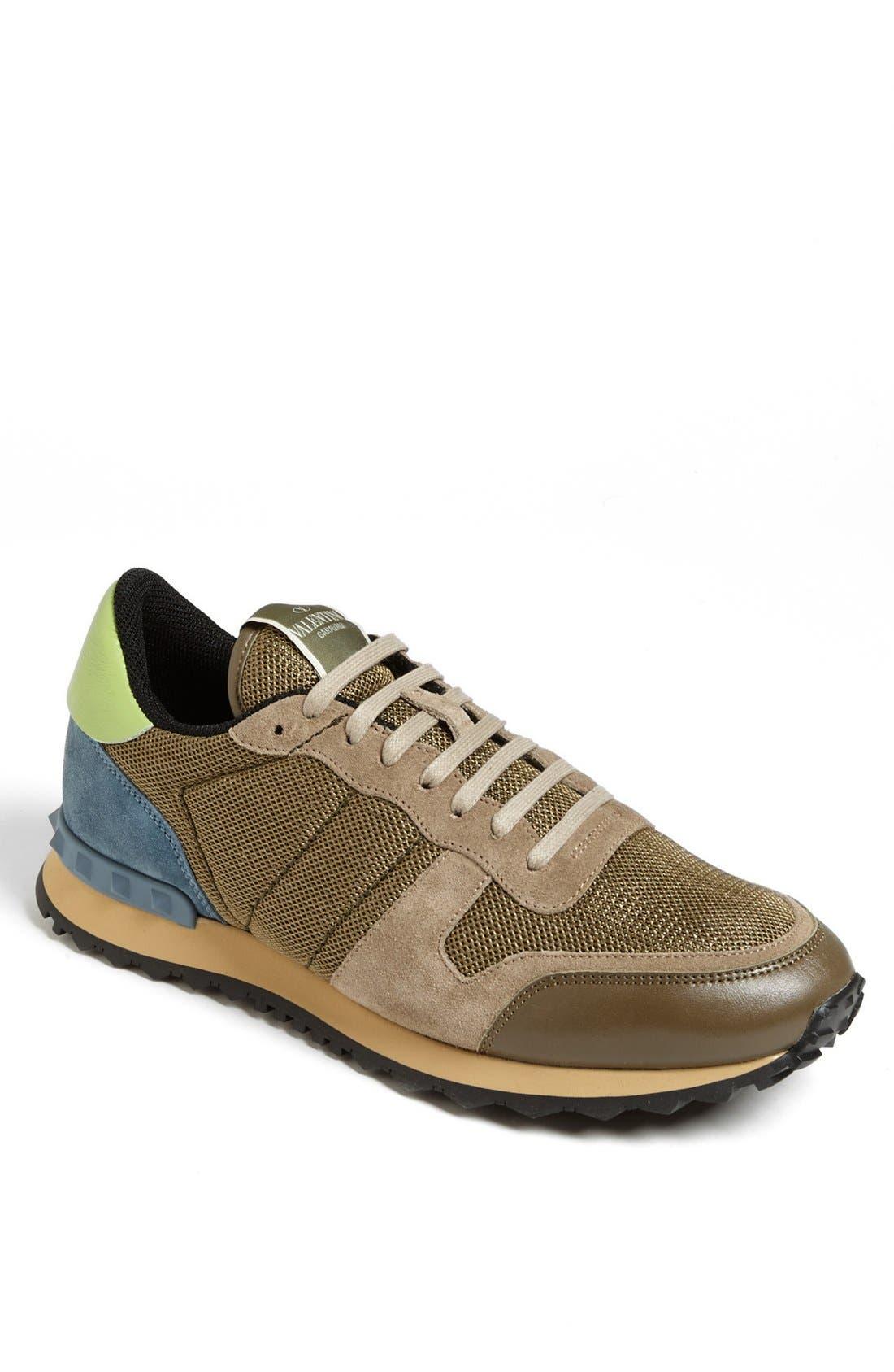 Main Image - Valentino Camouflage Sneaker (Men)