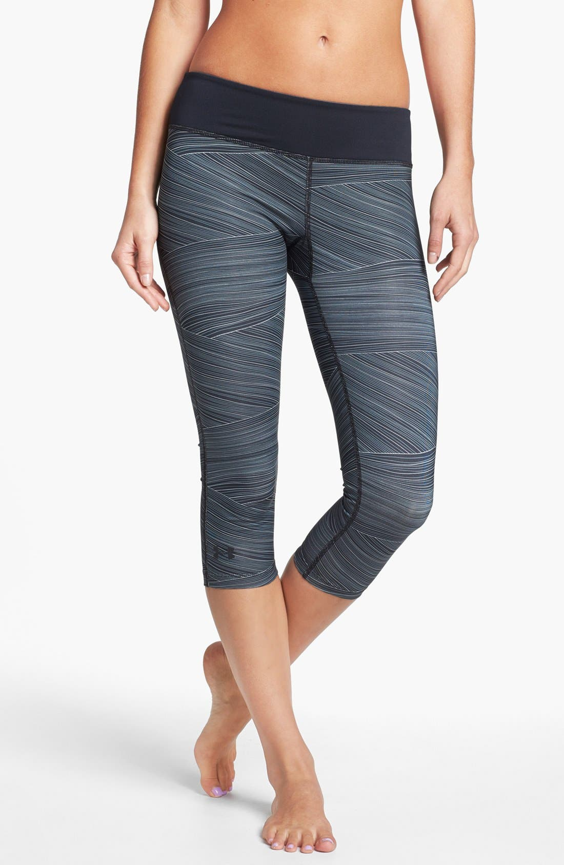 Alternate Image 1 Selected - Under Armour 'Sonic' Print Capris