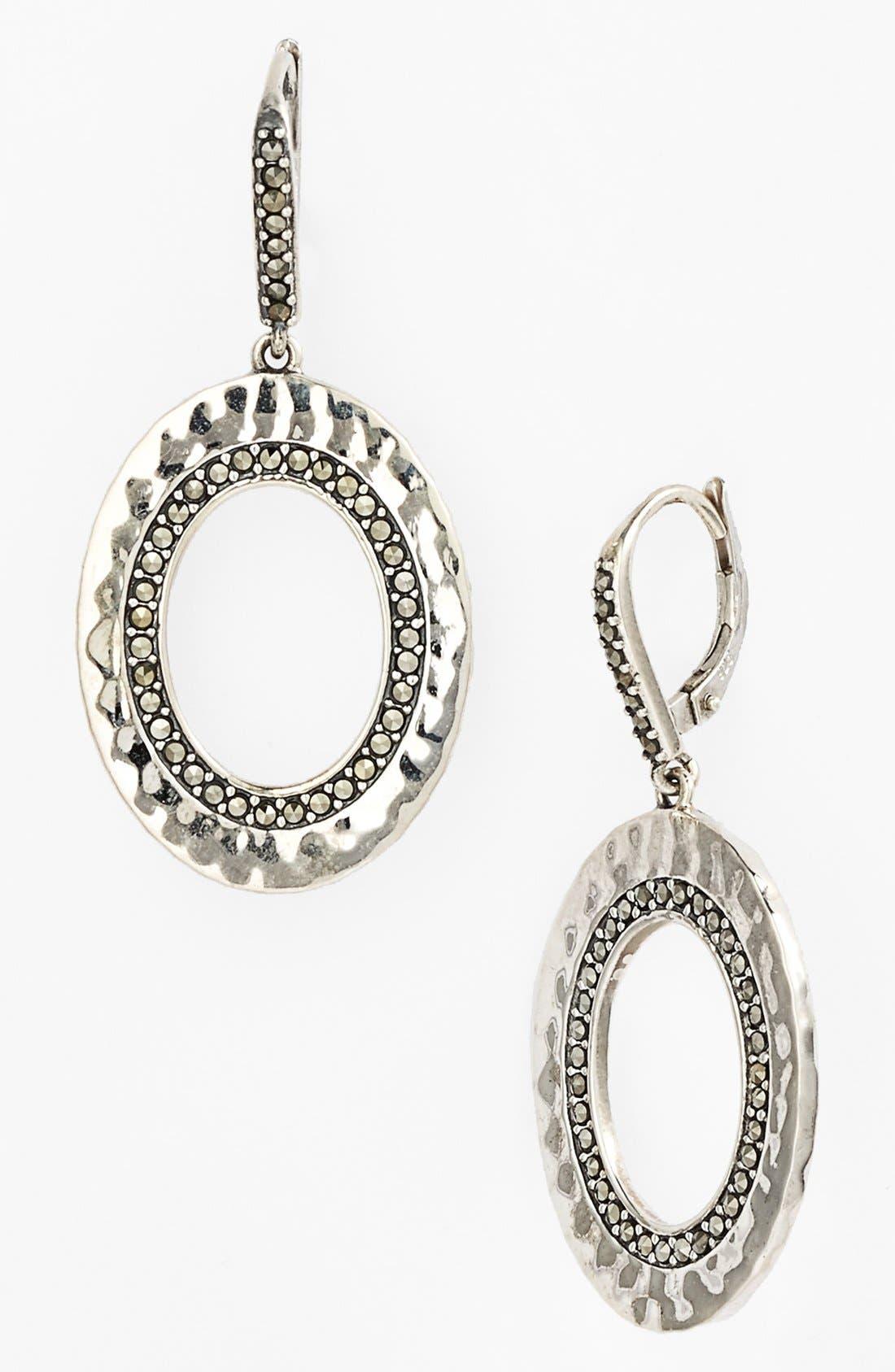 Main Image - Judith Jack 'Halo' Open Drop Earrings