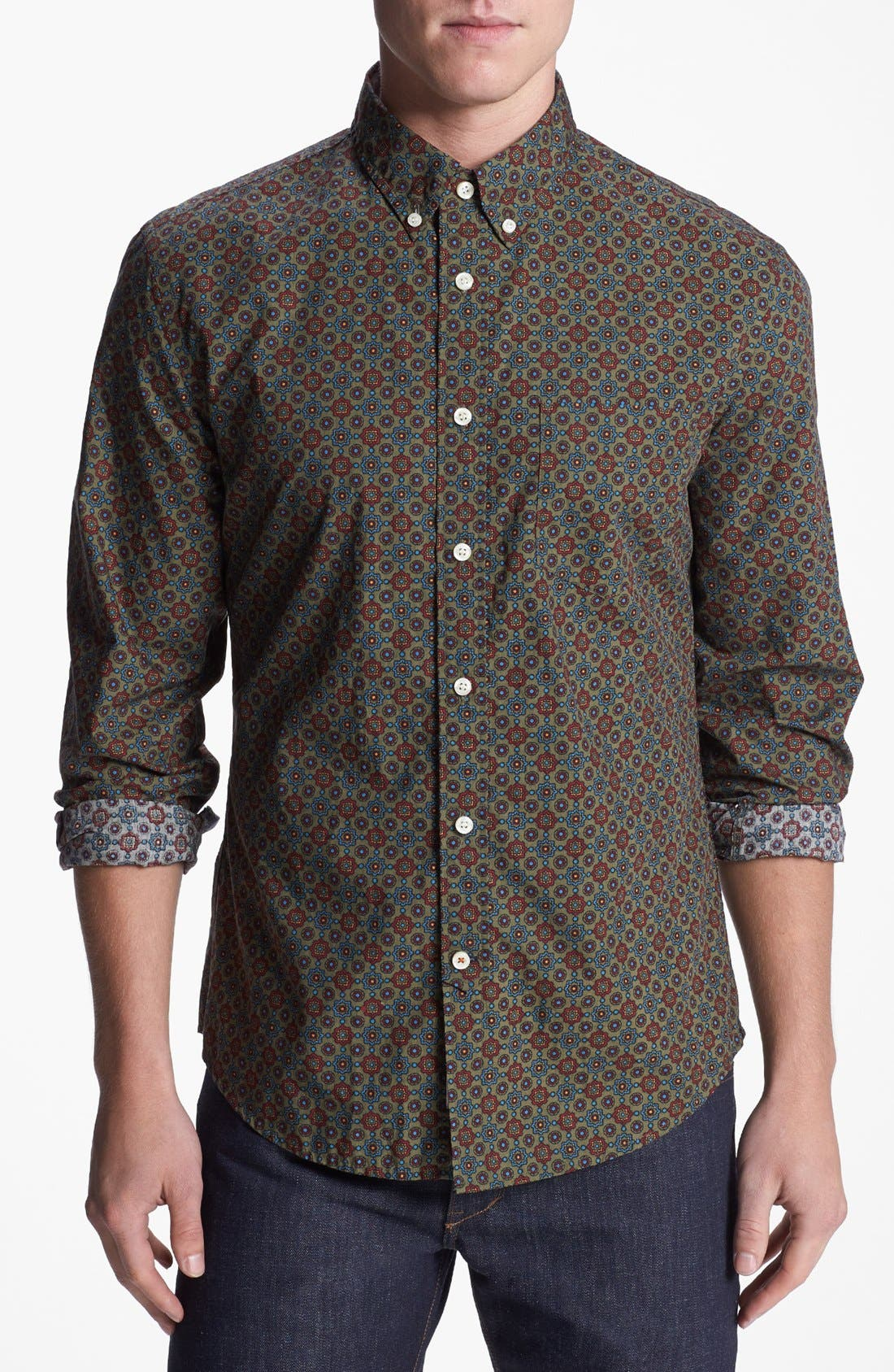 Alternate Image 1 Selected - Dockers® Print Woven Shirt