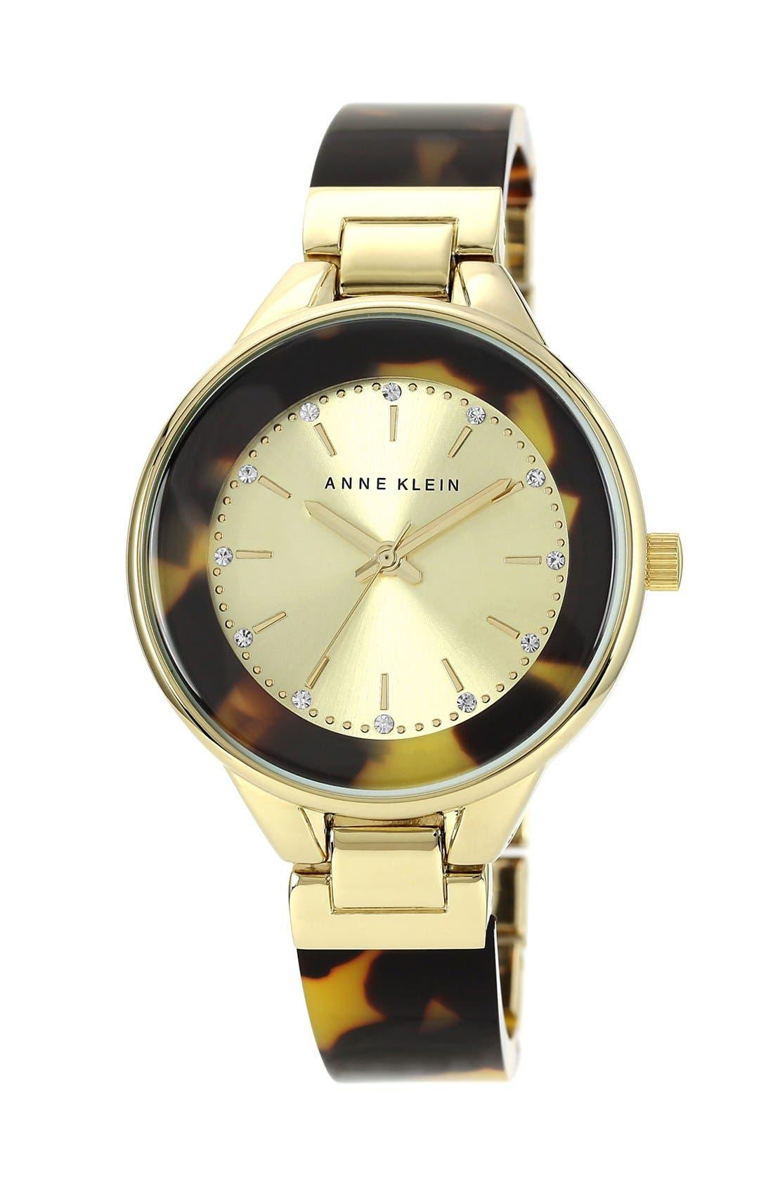 Main Image - Anne Klein Round Bangle Watch, 36mm