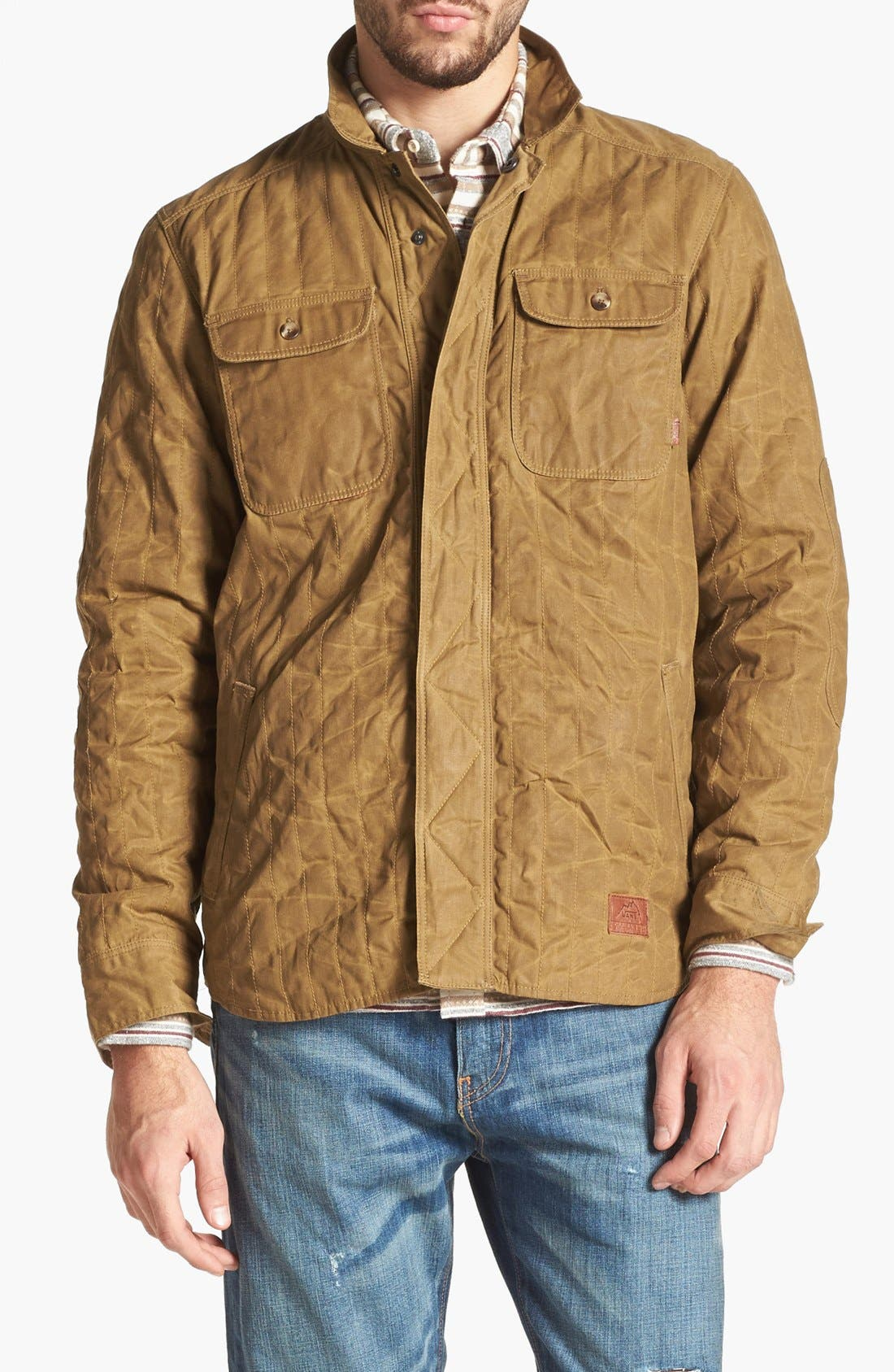 Main Image - Vans 'Tanka - Mountain Edition' Quilted Waxed Canvas Jacket