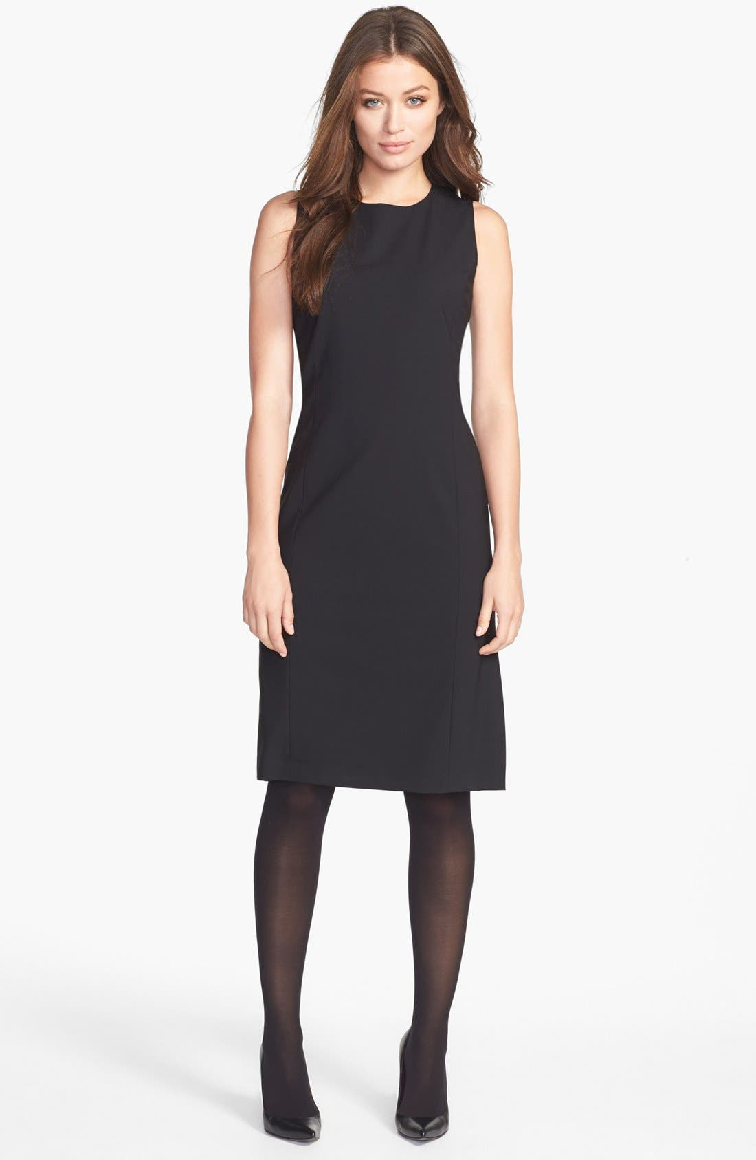 Alternate Image 1 Selected - Lafayette 148 New York Wool Sheath Dress