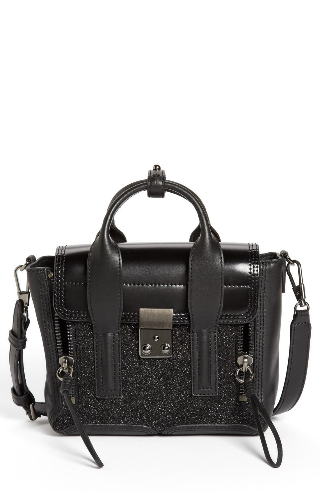 Alternate Image 1 Selected - 3.1 Phillip Lim 'Pashli Mini' Glitter Satchel