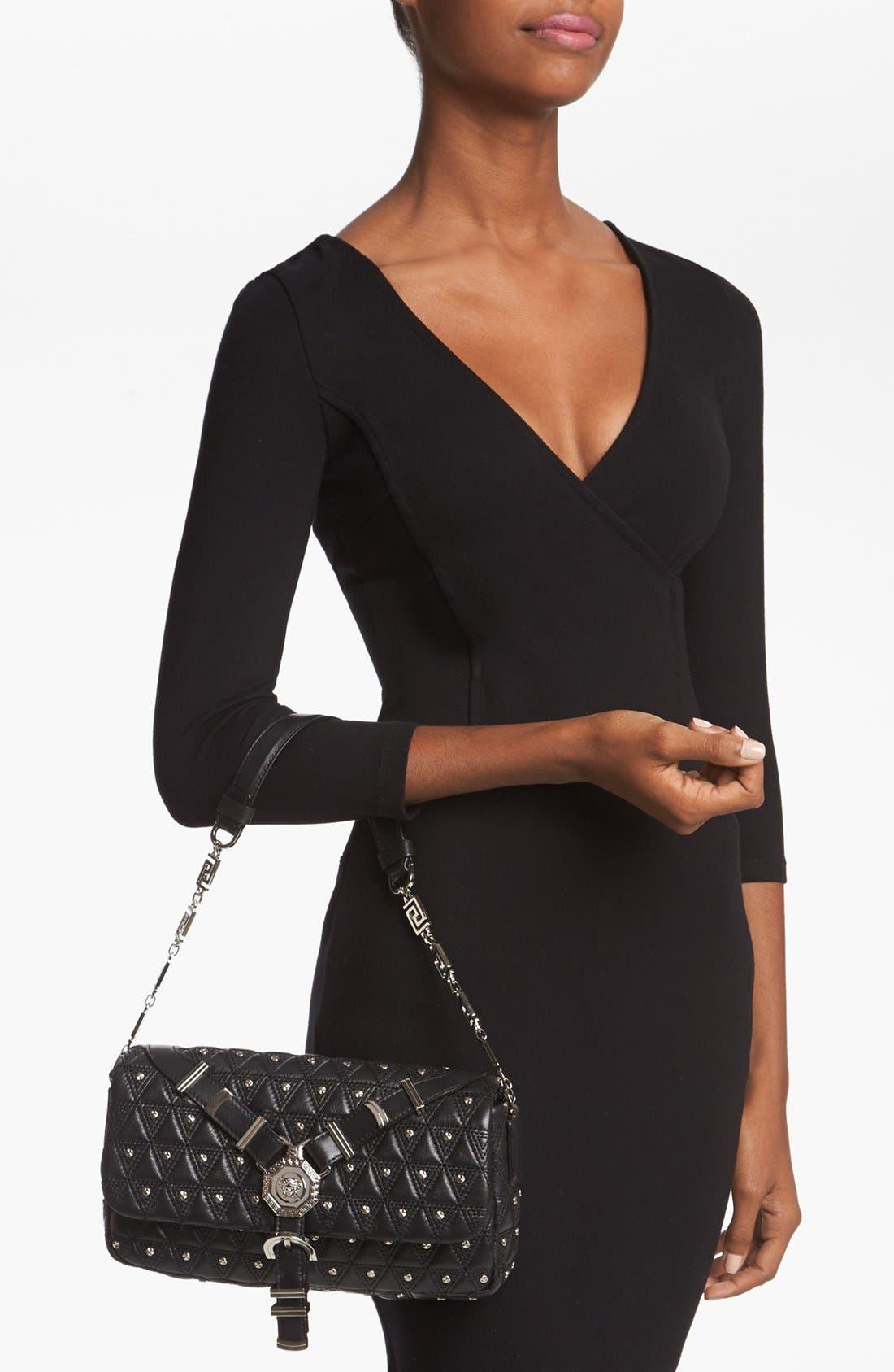 Alternate Image 2  - Versace 'Vanitas' Leather Flap Shoulder Bag