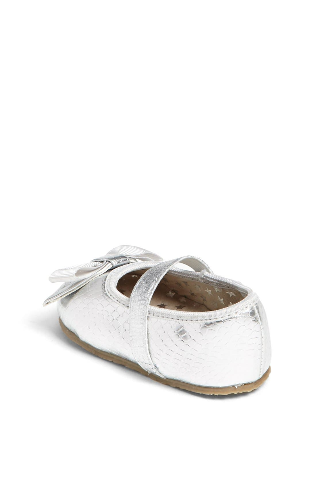 Alternate Image 2  - MICHAEL Michael Kors 'Grace' Crib Shoe (Baby)