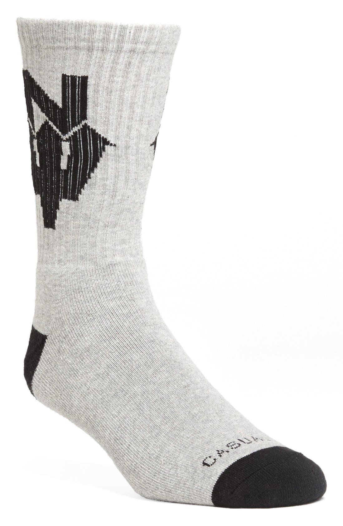 Alternate Image 1 Selected - Casual Industrees 'N Dub' Socks