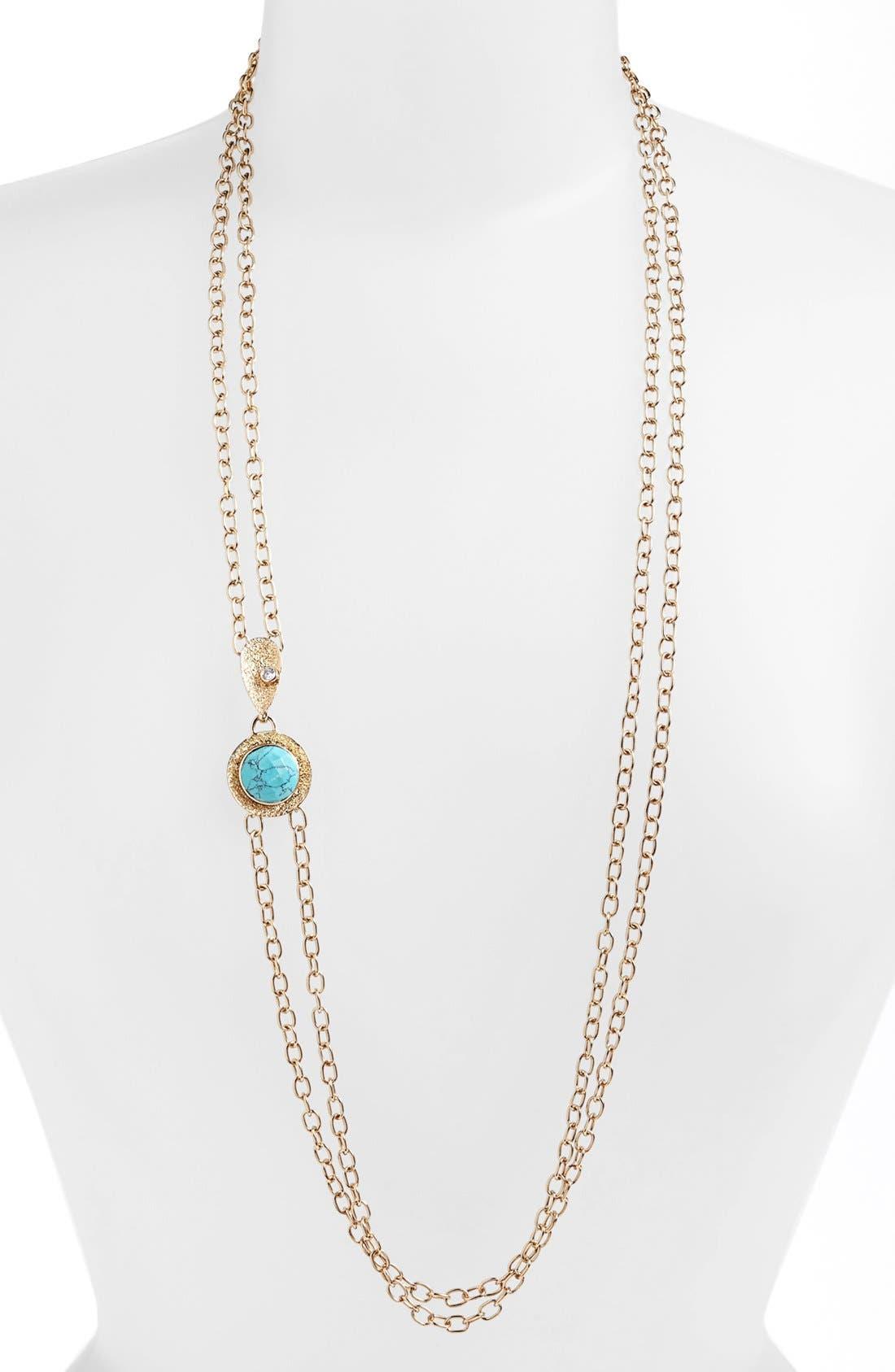 Main Image - Melinda Maria 'Sandra' Long Multistrand Necklace (Nordstrom Exclusive)