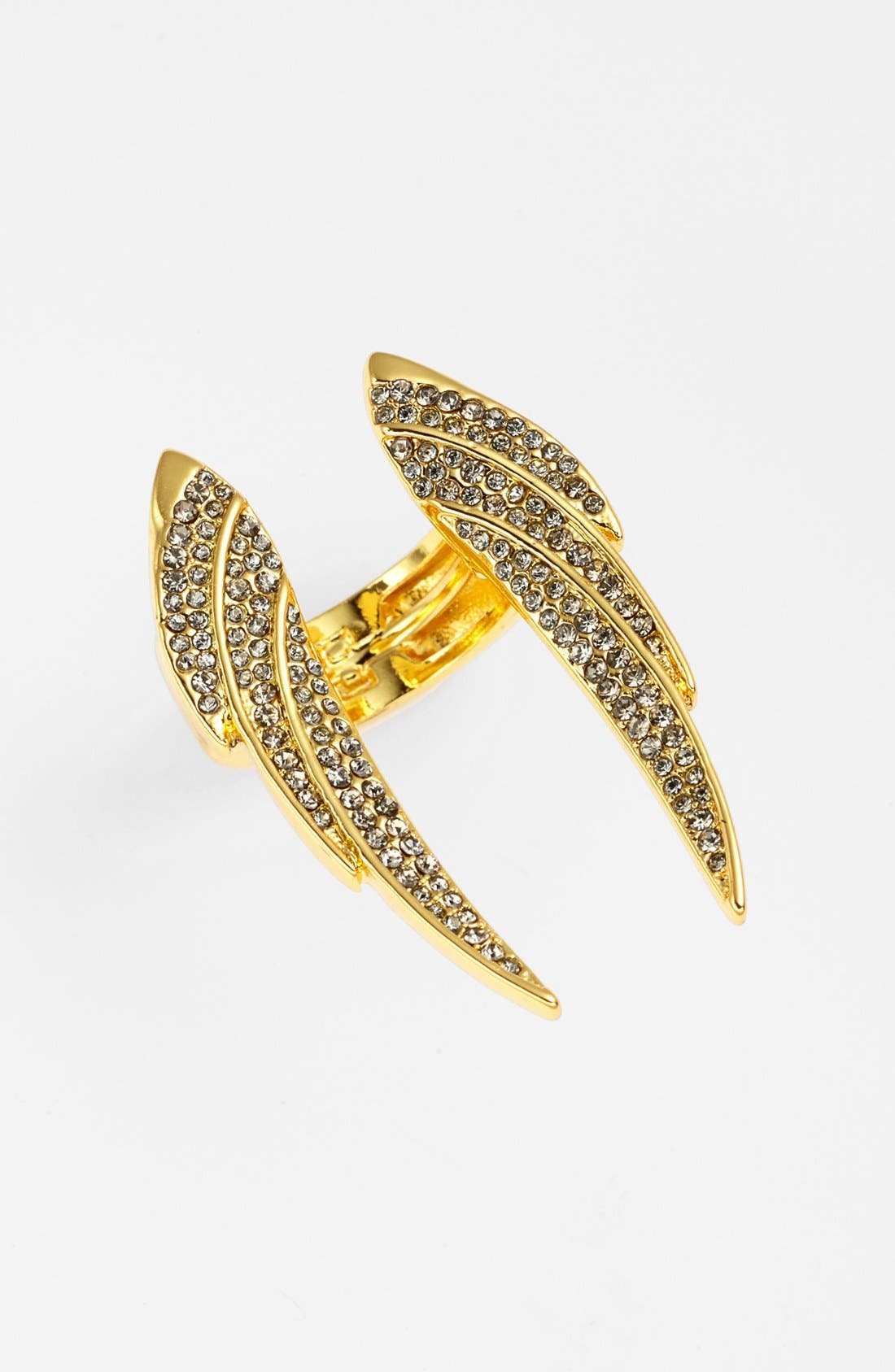 Alternate Image 1 Selected - Vince Camuto 'Flights of Fantasy' Pavé Wing Ring