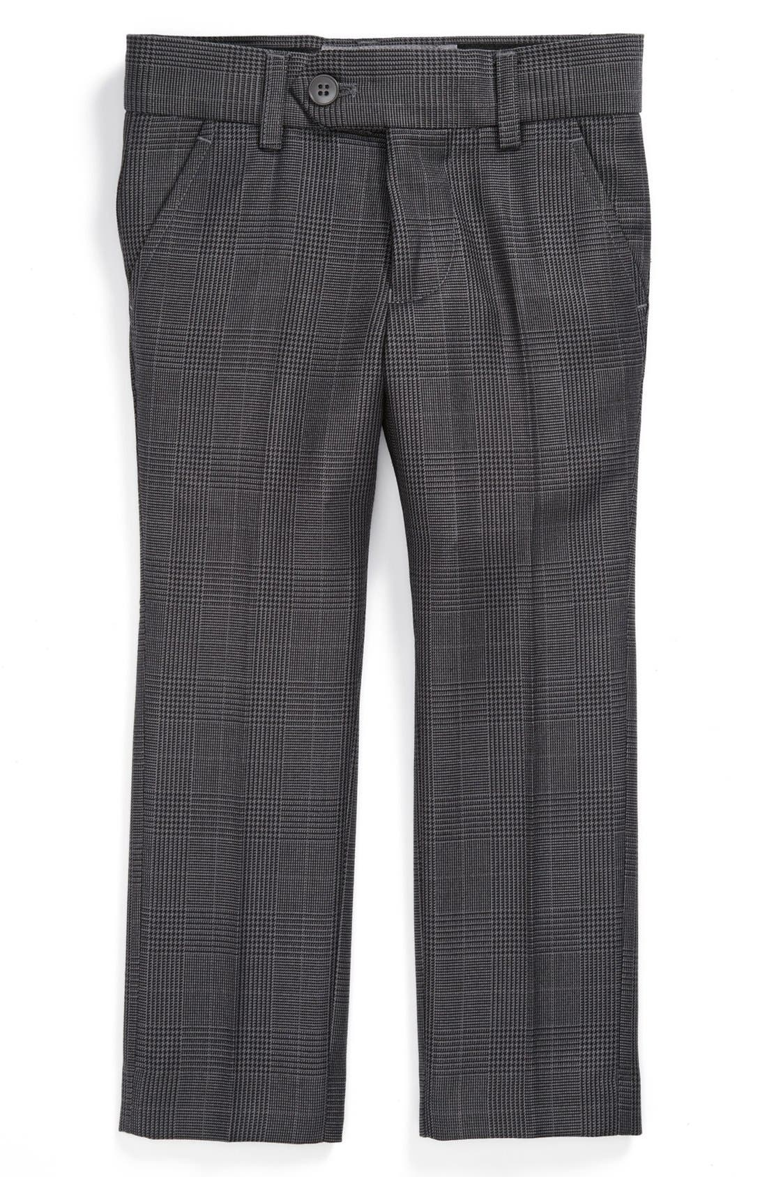 Main Image - Appaman Glen Plaid Trousers (Toddler Boys)