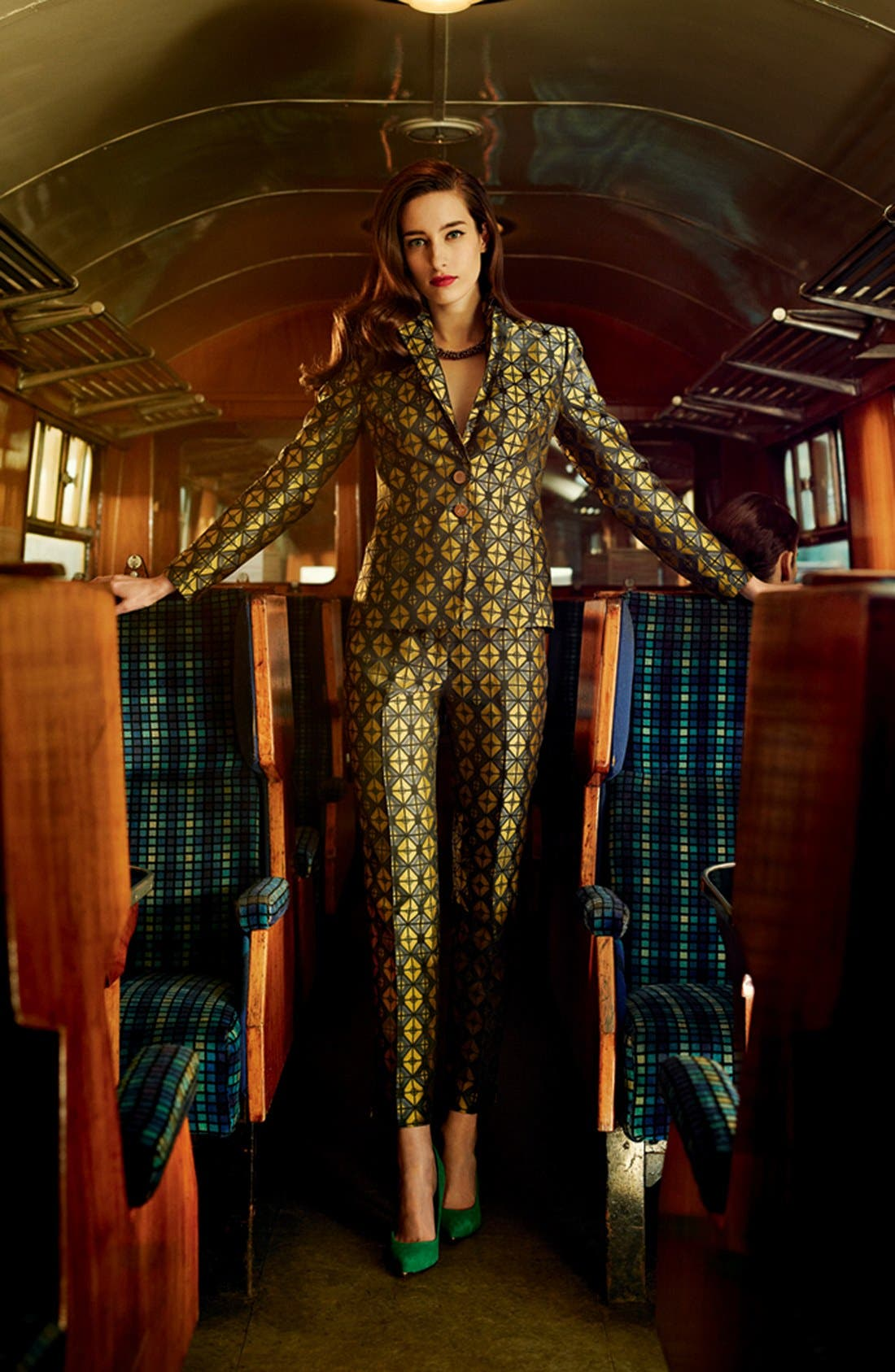 Alternate Image 4  - Ted Baker London 'Geo' Woven Jacket