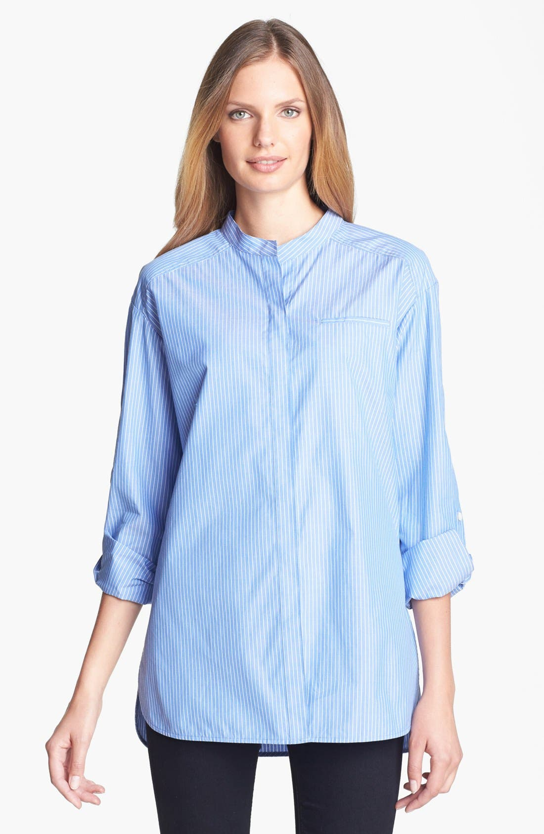 Main Image - Lafayette 148 New York Dropped Shoulder Blouse