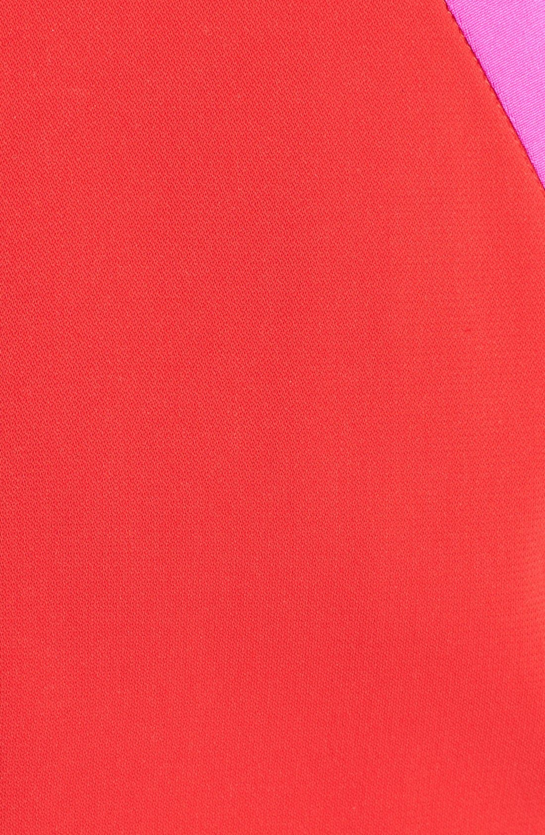 Alternate Image 3  - Jay Godfrey 'Woodward' Contrast Trim Sheath Dress