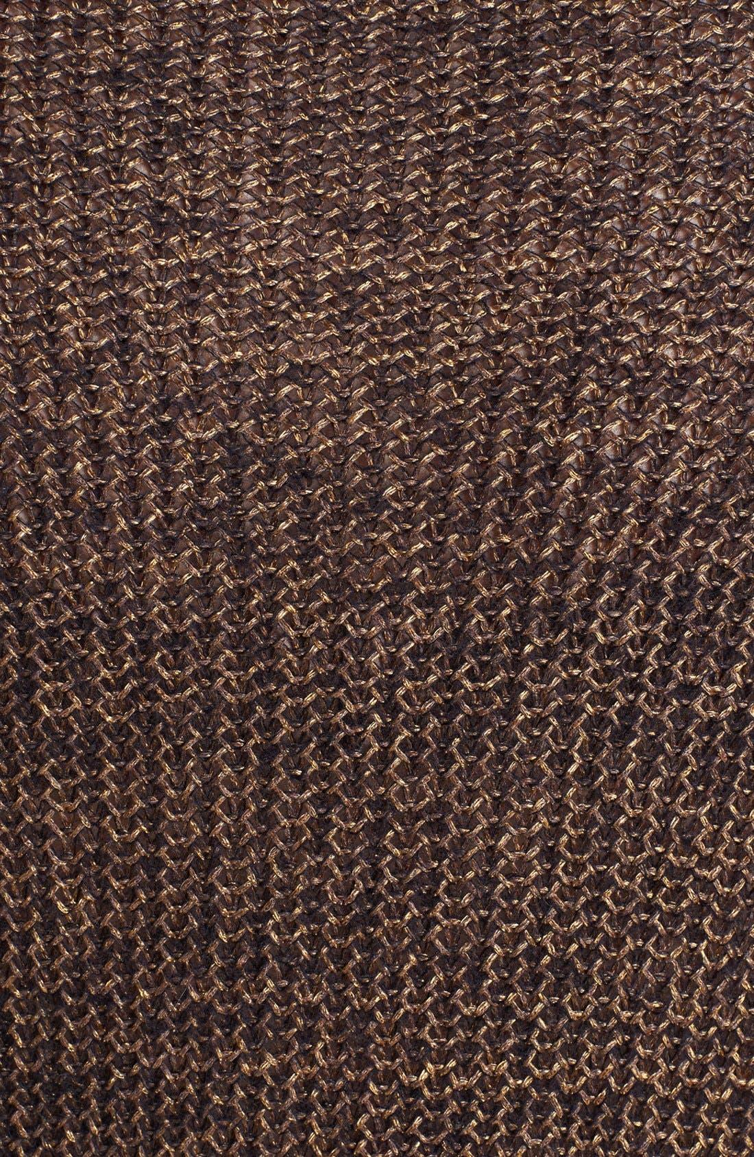 Alternate Image 3  - Eileen Fisher Metallic Sweater (Plus Size)