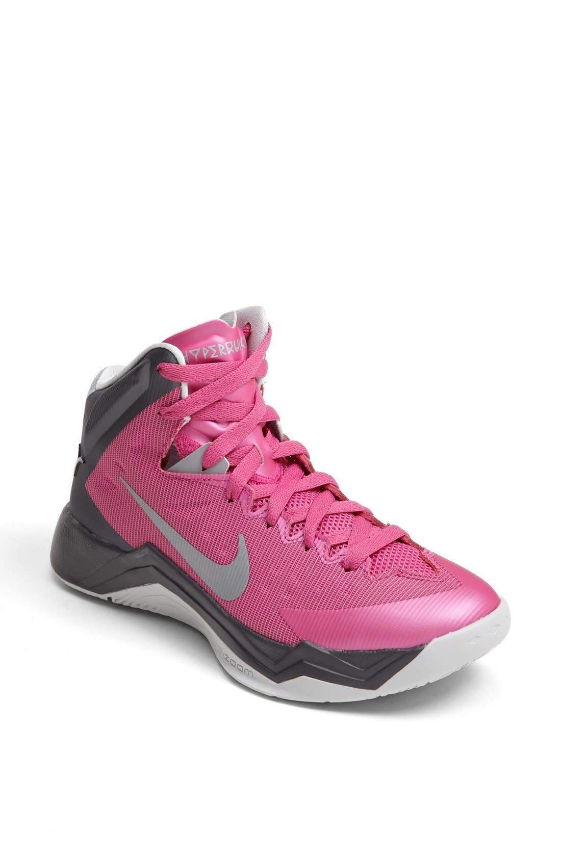 Alternate Image 1 Selected - Nike 'Hyper Quickness' Basketball Shoe (Women)