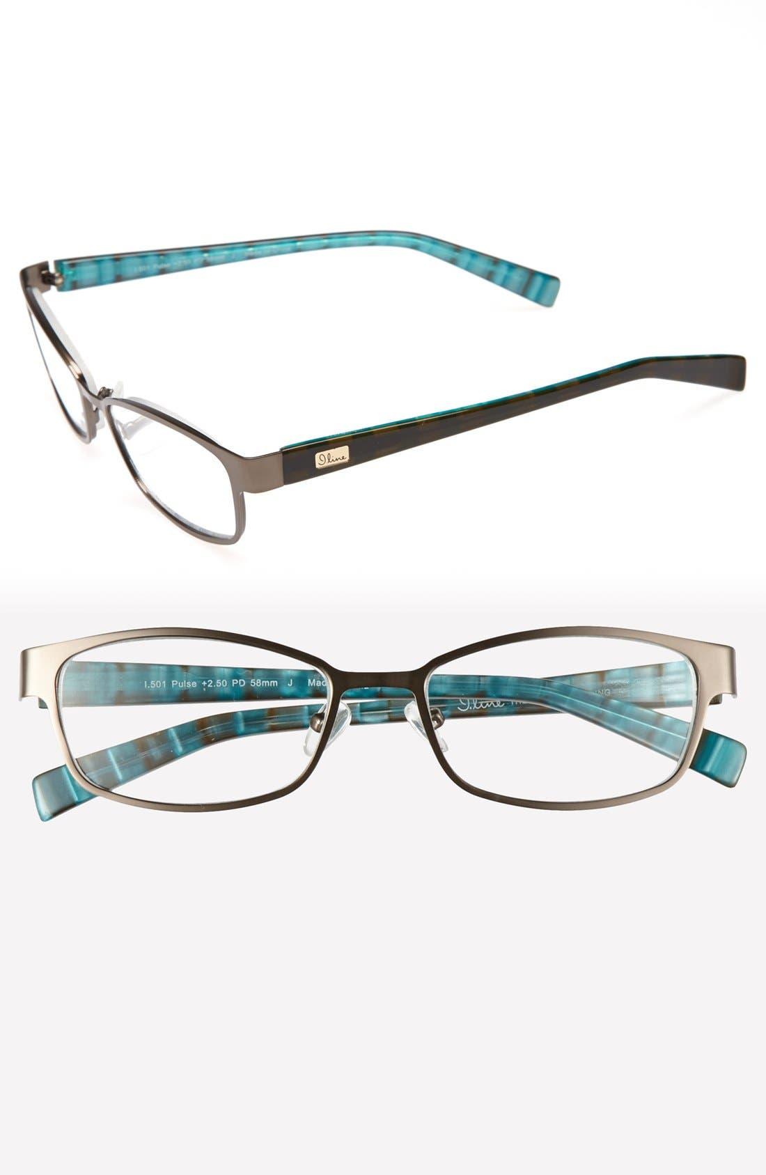 Alternate Image 1 Selected - I Line Eyewear 'Pulse' 52mm Reading Glasses (2 for $88)