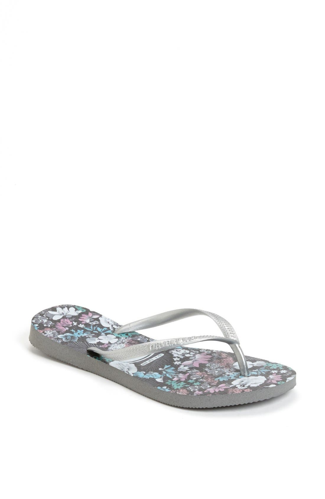 Alternate Image 1 Selected - Havaianas 'Slim Floral' Flip Flop (Women)