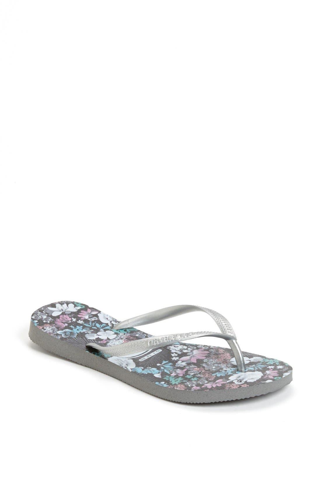 Main Image - Havaianas 'Slim Floral' Flip Flop (Women)