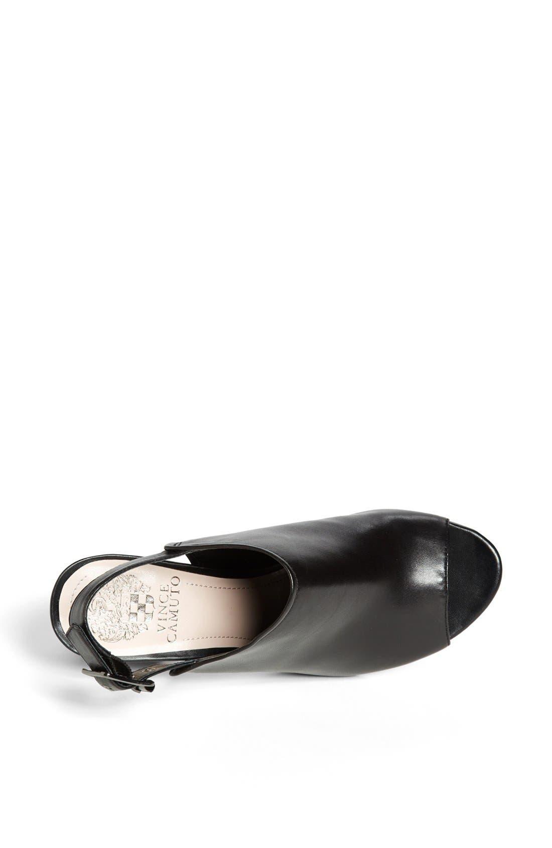 Alternate Image 3  - Vince Camuto 'Brianny' Slingback Peep Toe Leather Sandal