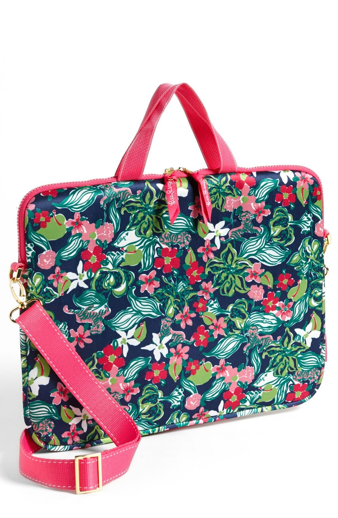 Main Image - Lilly Pulitzer® 'Tiger Lilly' Laptop Tote