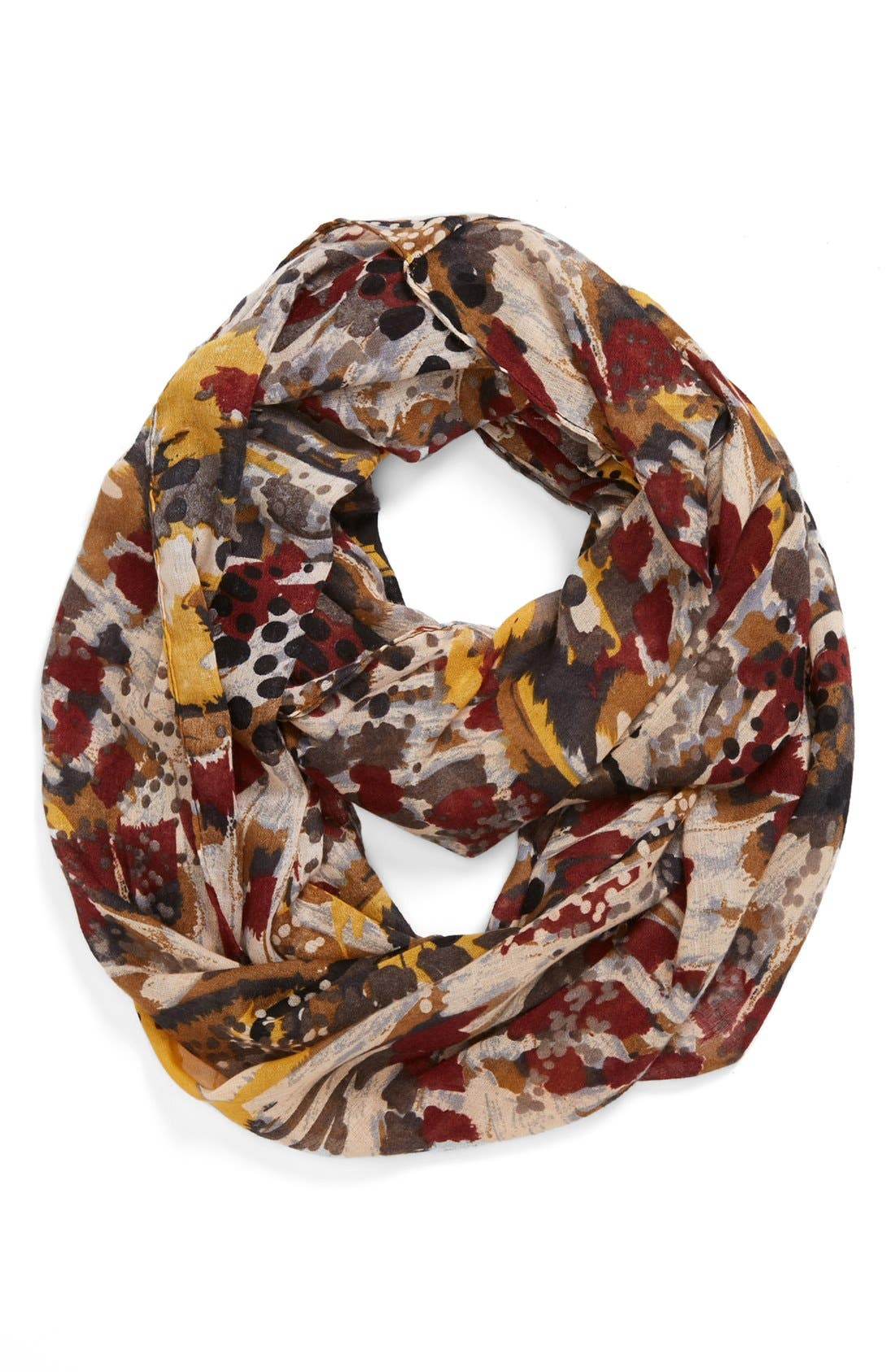 Alternate Image 1 Selected - Tasha 'Painted Butterfly' Infinity Scarf