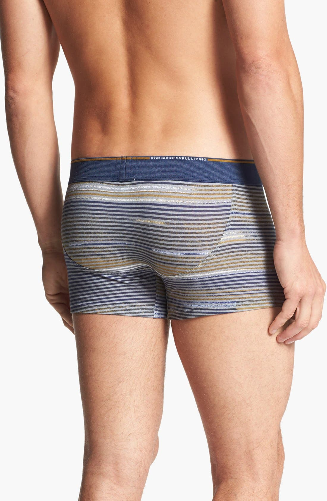 Alternate Image 2  - DIESEL® 'Divine' Stripe Boxer Briefs
