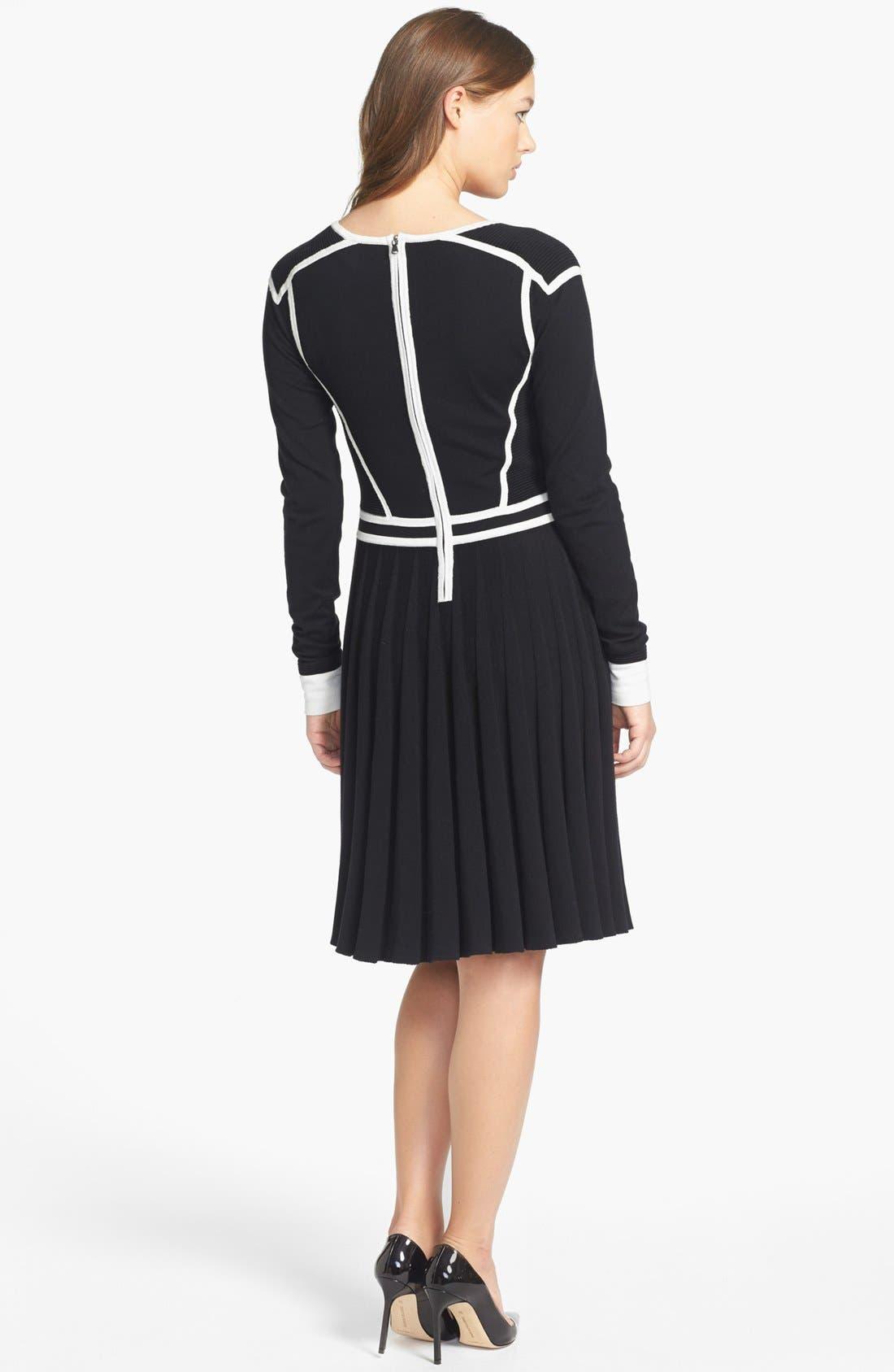 Alternate Image 2  - MARC BY MARC JACOBS 'Alexis' Cotton Blend Sweater Dress