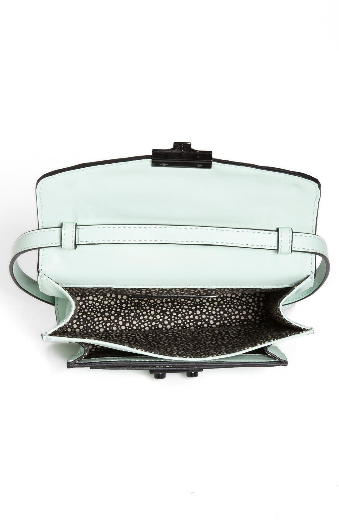 Alternate Image 3  - Loeffler Randall 'Rider - Mini' Leather Satchel