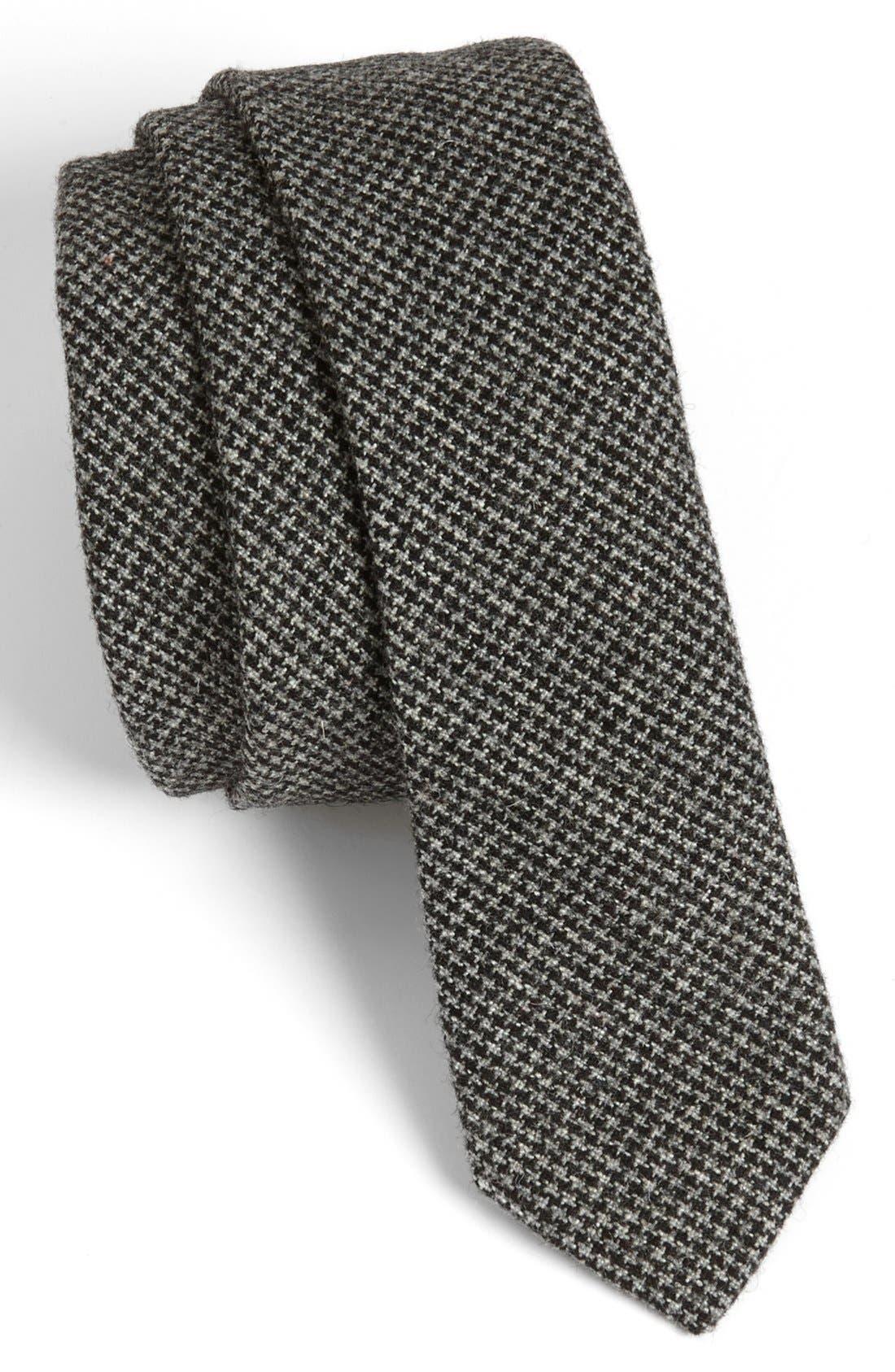 Main Image - Topman Houndstooth Tie