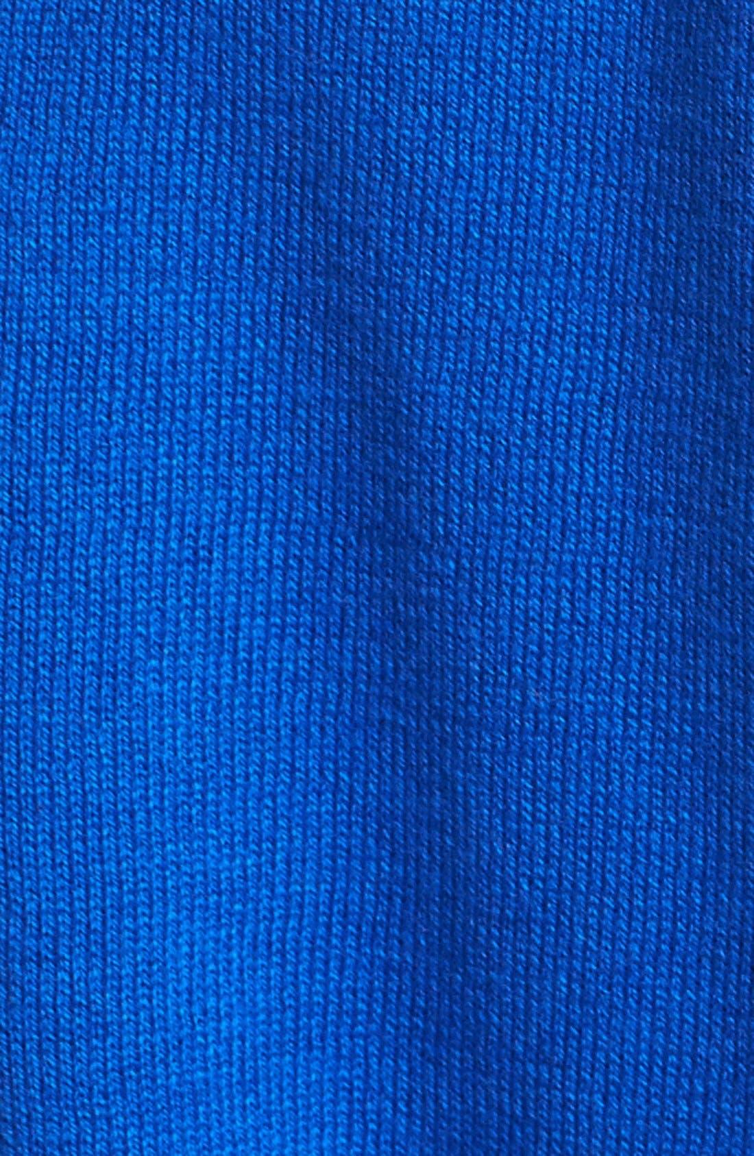 Alternate Image 3  - Vince Camuto Vertical Stripe Colorblock Cotton Blend Sweater