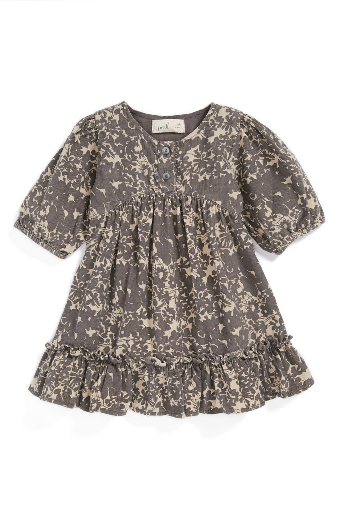 Alternate Image 1 Selected - Peek 'Savannah' Dress (Baby Girls)
