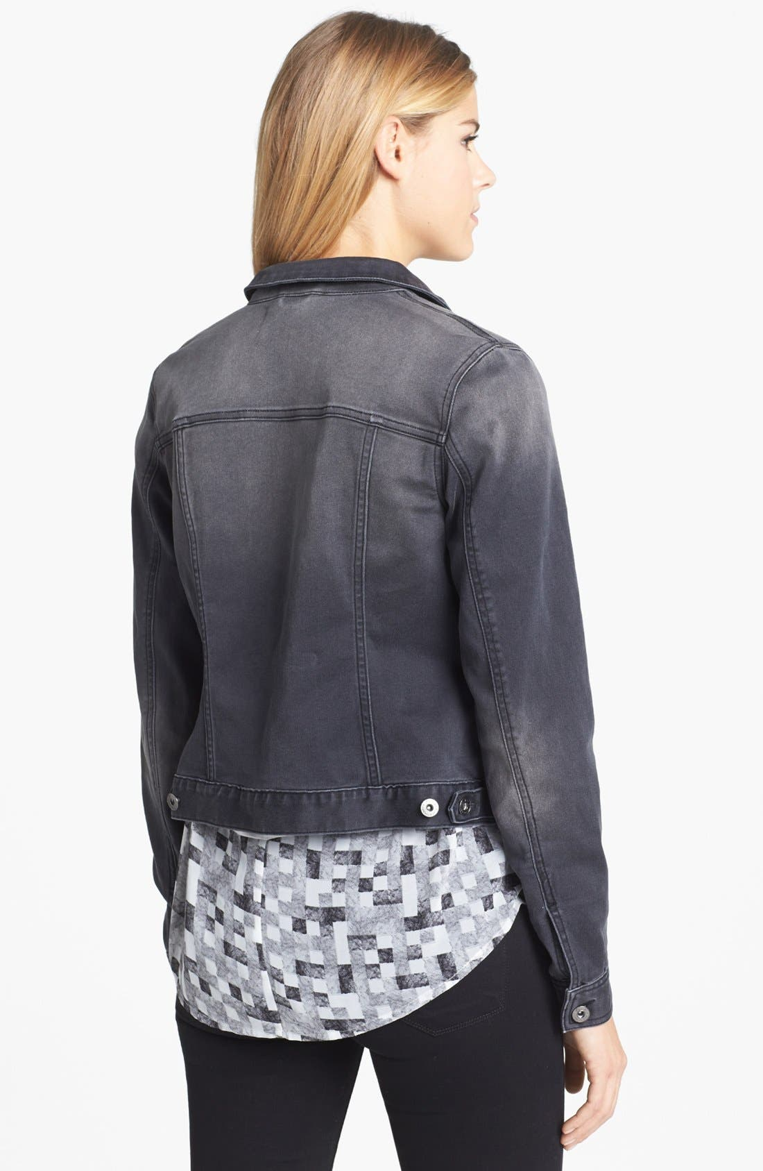 Alternate Image 2  - Two by Vince Camuto 'Stone' Jean Jacket