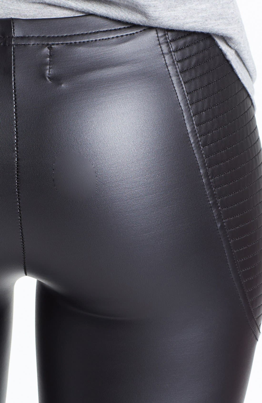 Alternate Image 3  - MINKPINK 'Vroom Vroom' Faux Leather Leggings