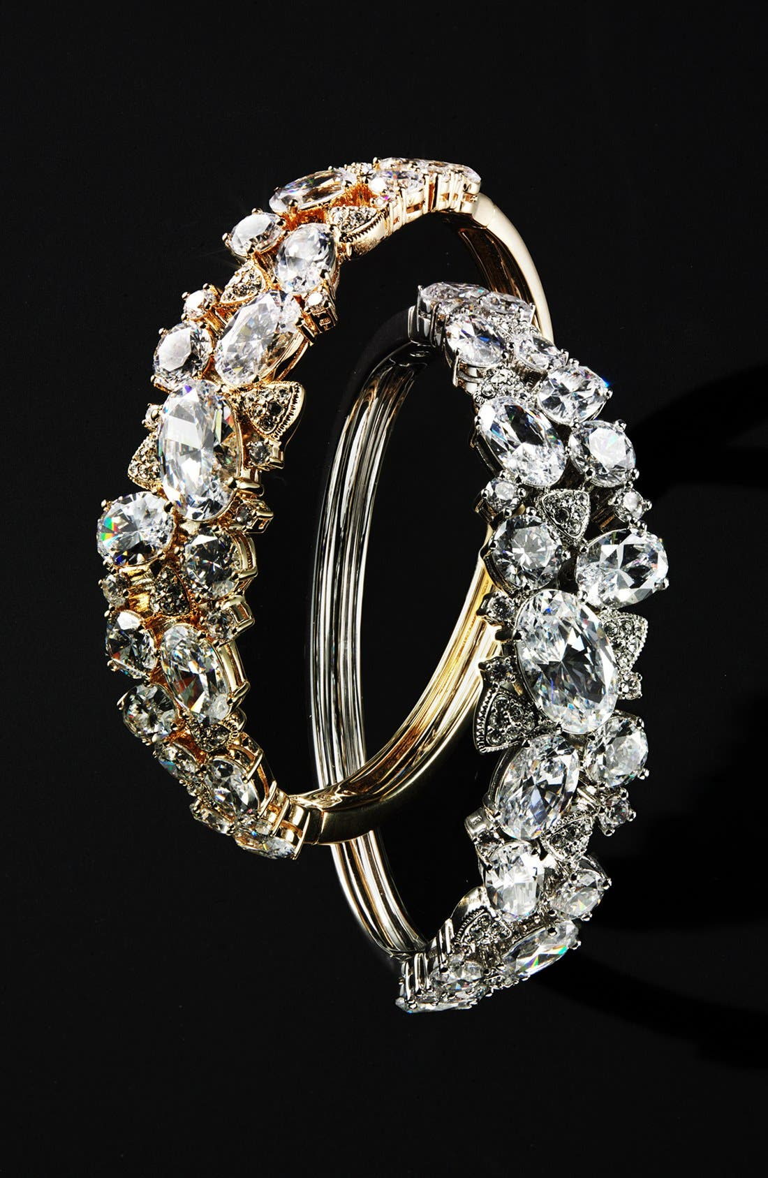 Alternate Image 2  - Nadri Cubic Zirconia Cluster Bangle (Nordstrom Exclusive)
